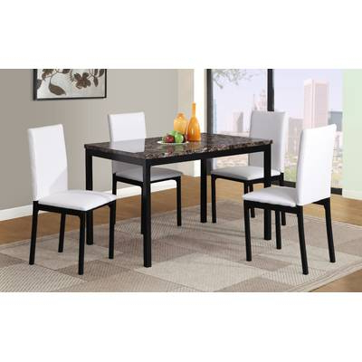 Wrought Studio Chelmsford 3 Piece Dining Set & Reviews (Gallery 5 of 20)