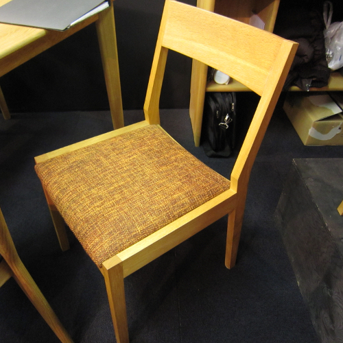 Yorokobi: Joy Of The Dining Chair Mukai Oak Domestic Production Inside Widely Used Mukai 5 Piece Dining Sets (View 20 of 20)