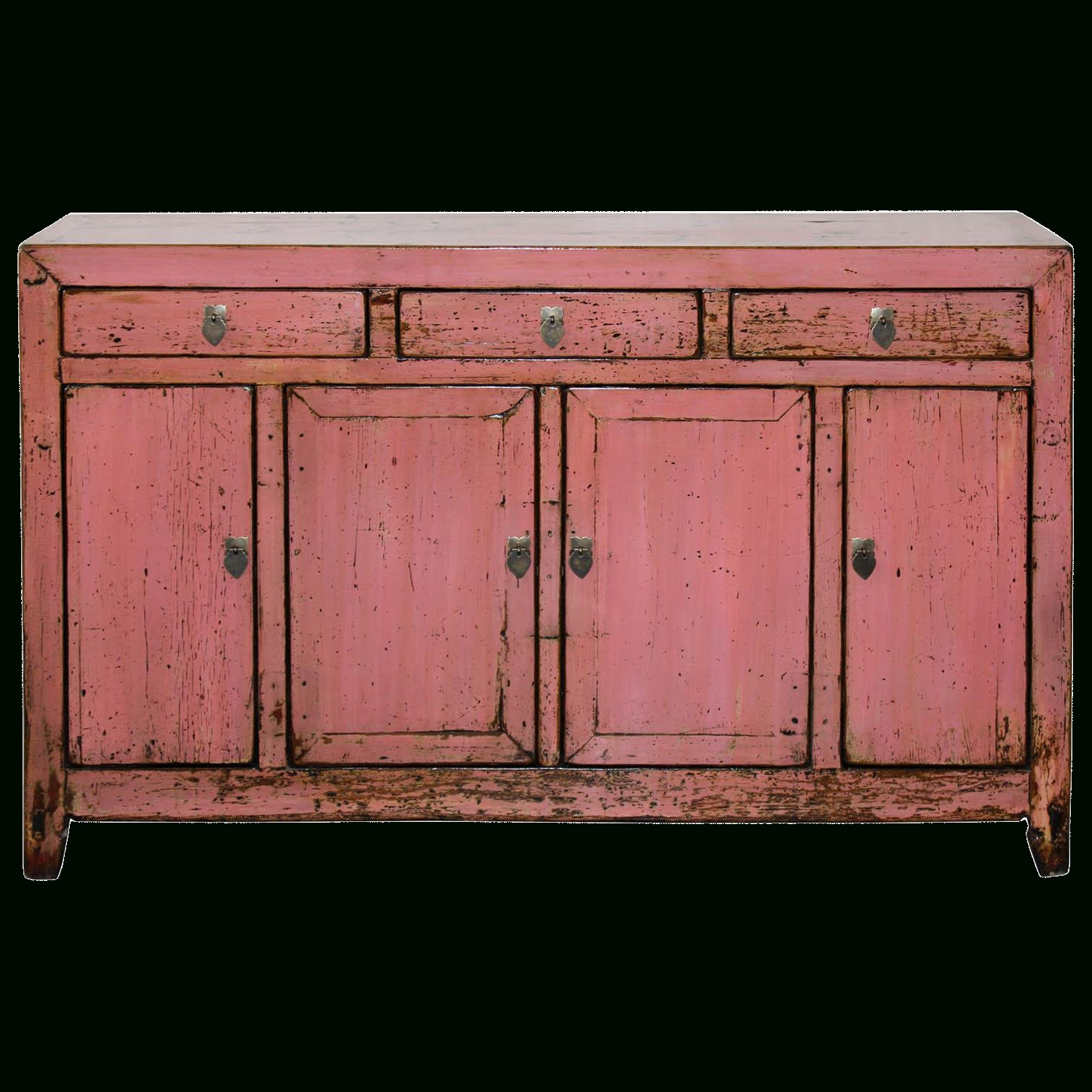 1900s Asian Antique Pink Sideboard In 2019 | Shh We Won't Throughout Solana Sideboards (View 16 of 20)