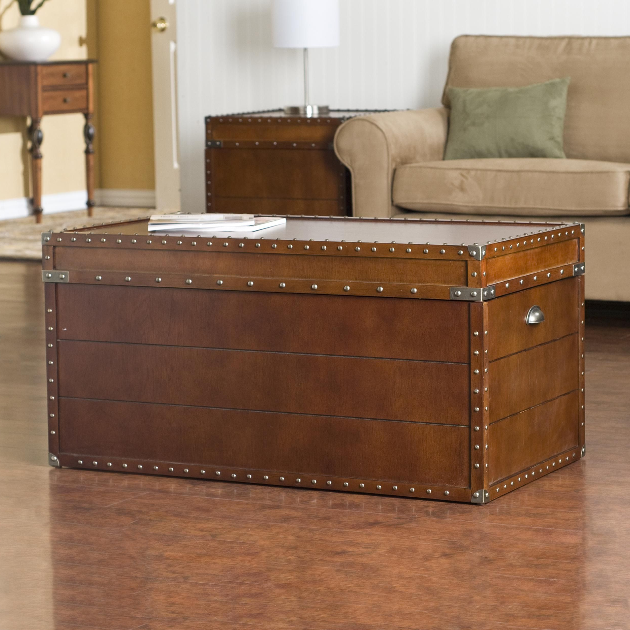 2019 Copper Grove Liatris Nailhead Espresso Cocktail Tables With Pinterest (Gallery 11 of 20)