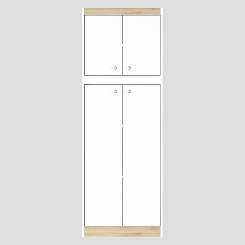 "2019 Elliana 4 Door Storage Kitchen Pantry With Regard To Elliana 4 Door Storage 67"" Kitchen Pantry (Gallery 5 of 20)"