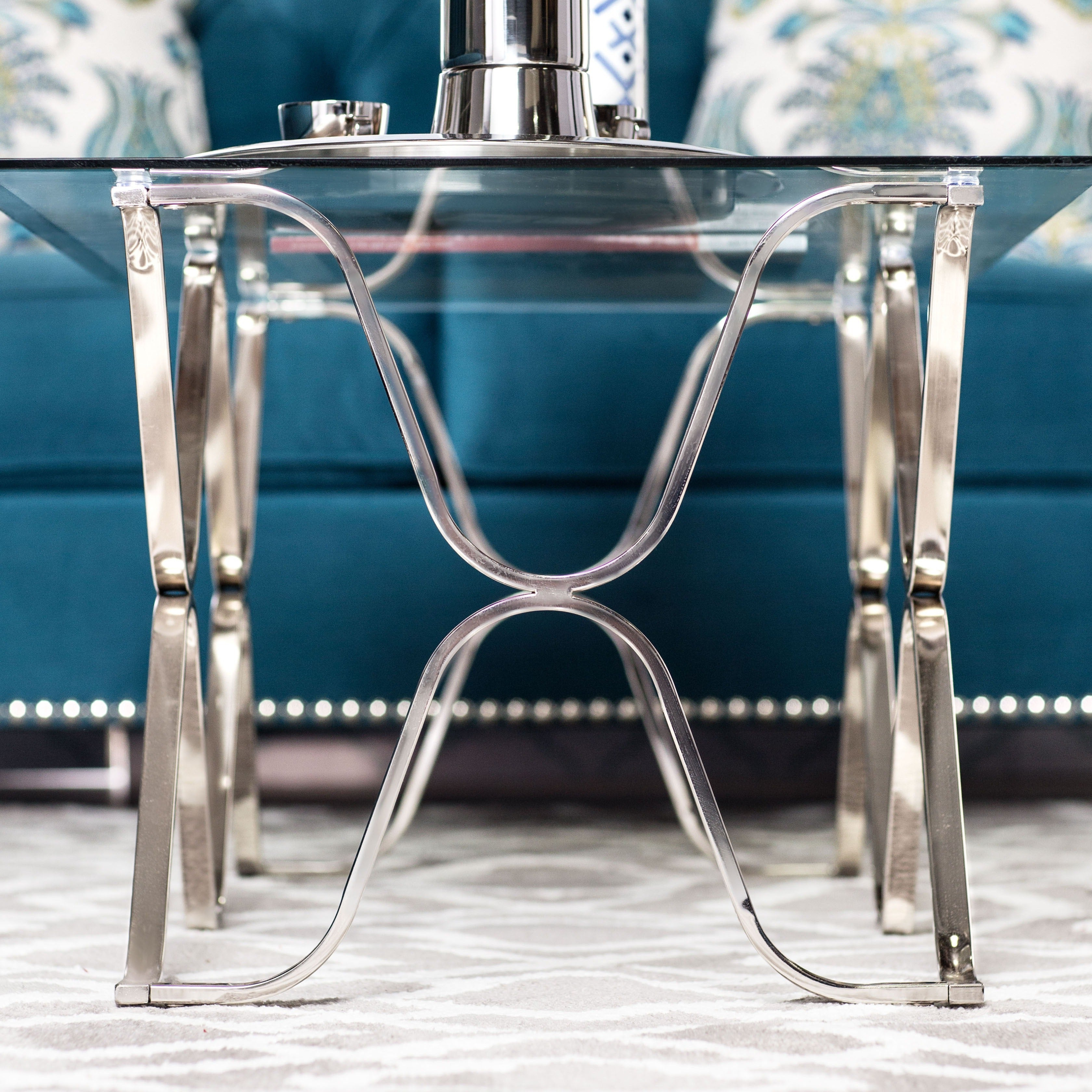 2019 Furniture Of America Tellarie Contemporary Chrome Coffee Tables Intended For Furniture Of America Tellarie Contemporary Chrome Coffee Table – Silver (View 2 of 20)