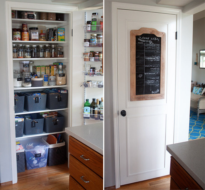 2019 How We Organized Our Small Kitchen Pantry – Kitchen Treaty Throughout Kitchen Pantry (Gallery 20 of 20)