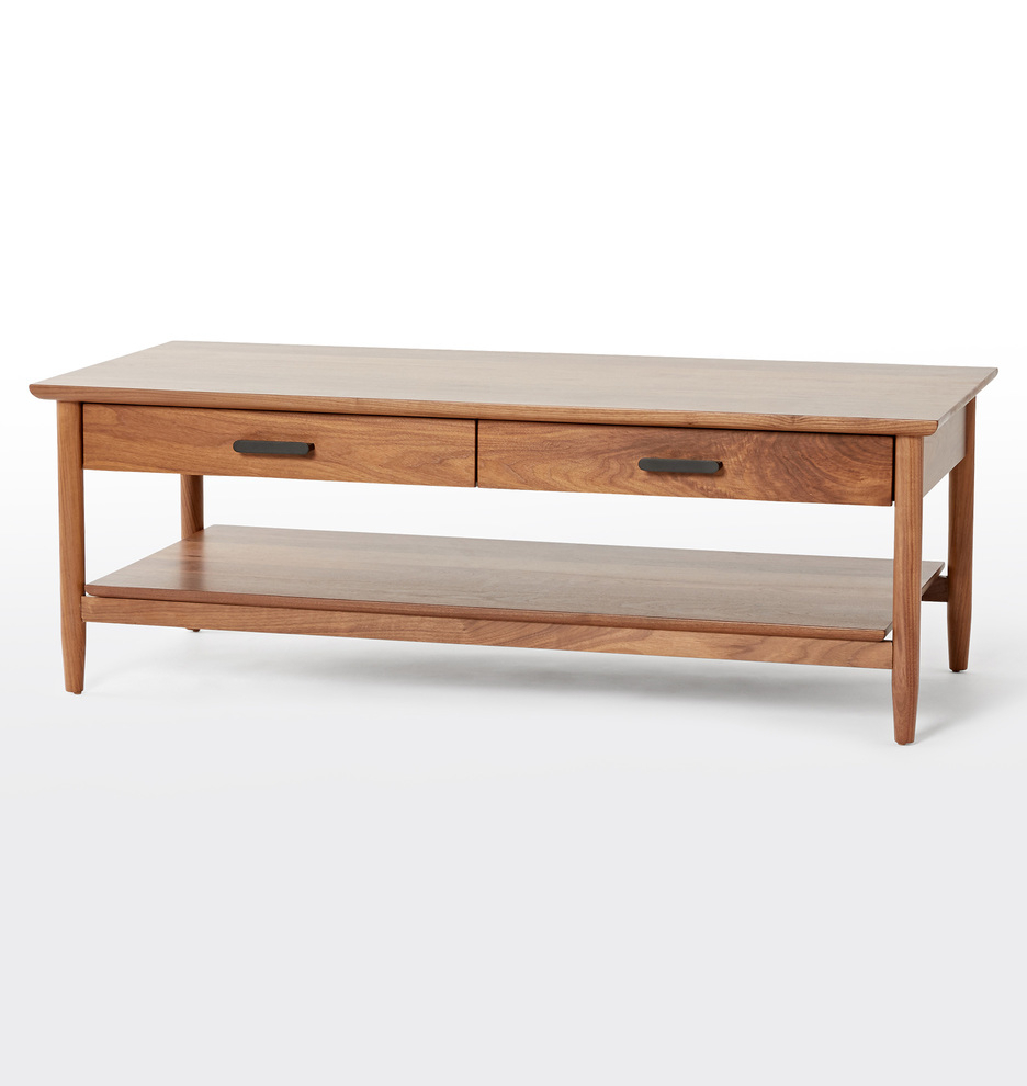 2019 Mission Walnut Coffee Tables For Shaw Walnut Coffee Table (View 1 of 20)