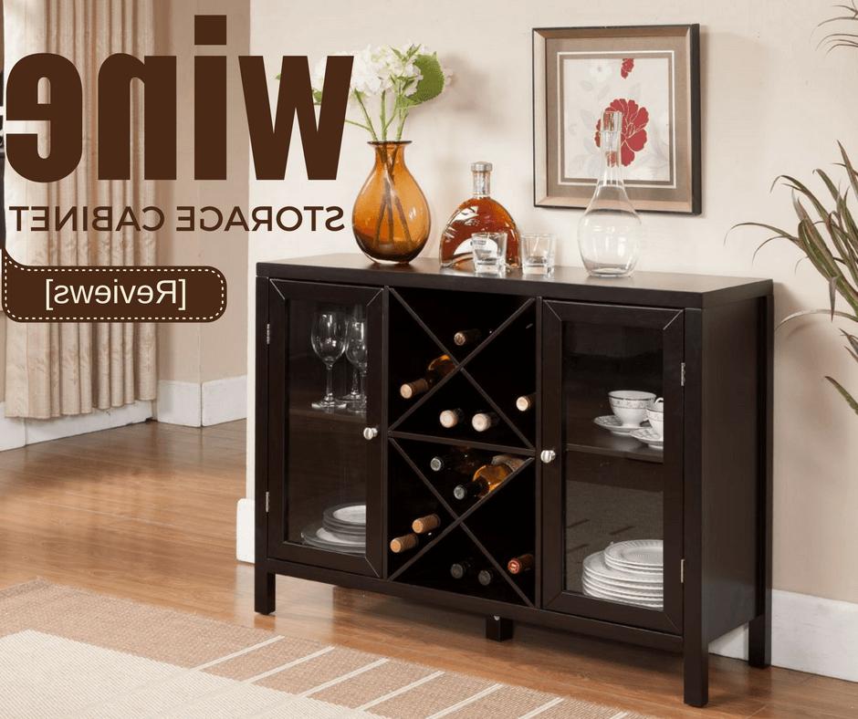 2019 Wine Storage Cabinet Reviews – Wine Turtle Throughout Avis Storage Cabinet (Gallery 9 of 20)