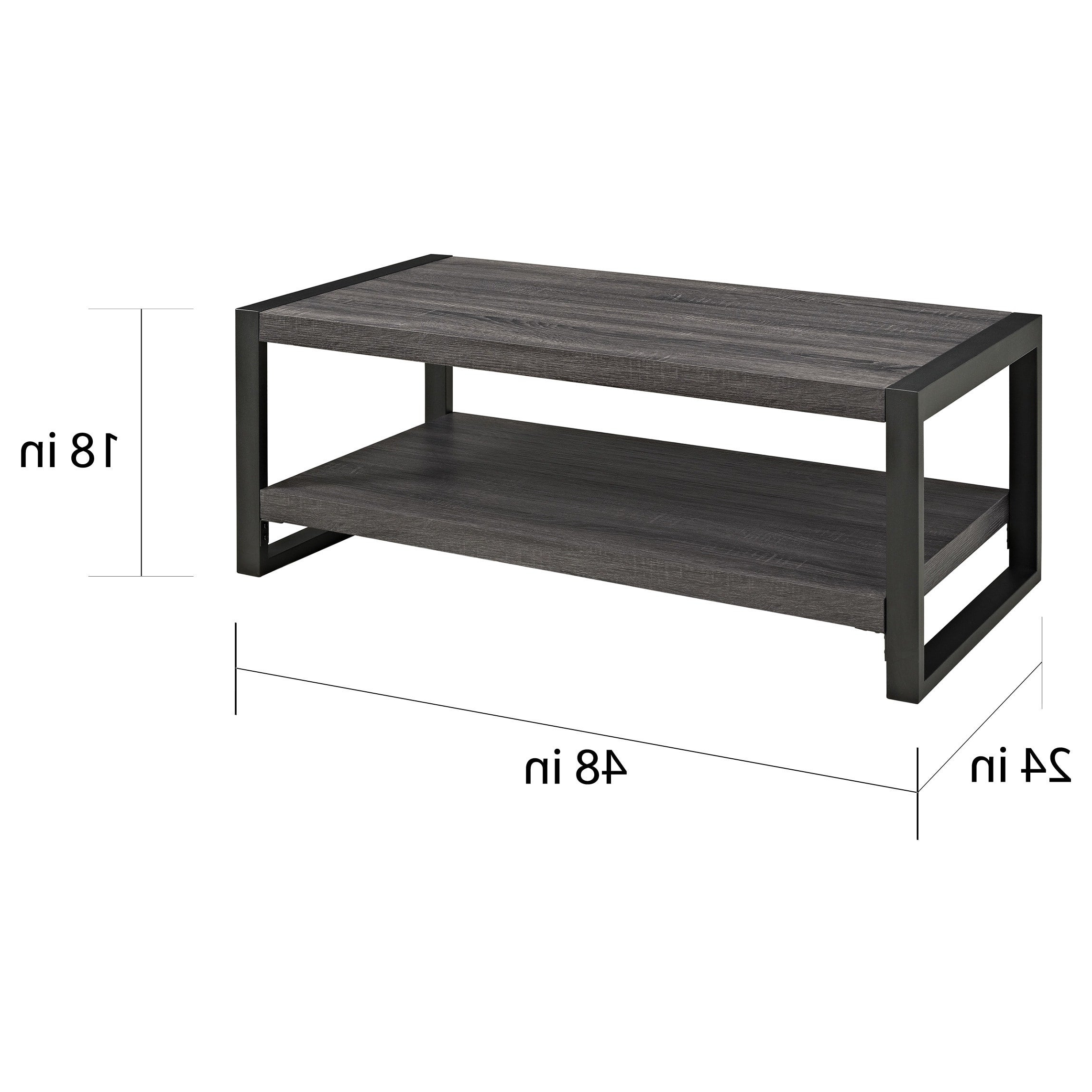 2020 Carbon Loft Hamilton 48 Inch Coffee Tables With Carbon Loft Hamilton 48 Inch Coffee Table – 48 X 24 X 18H (Gallery 2 of 20)