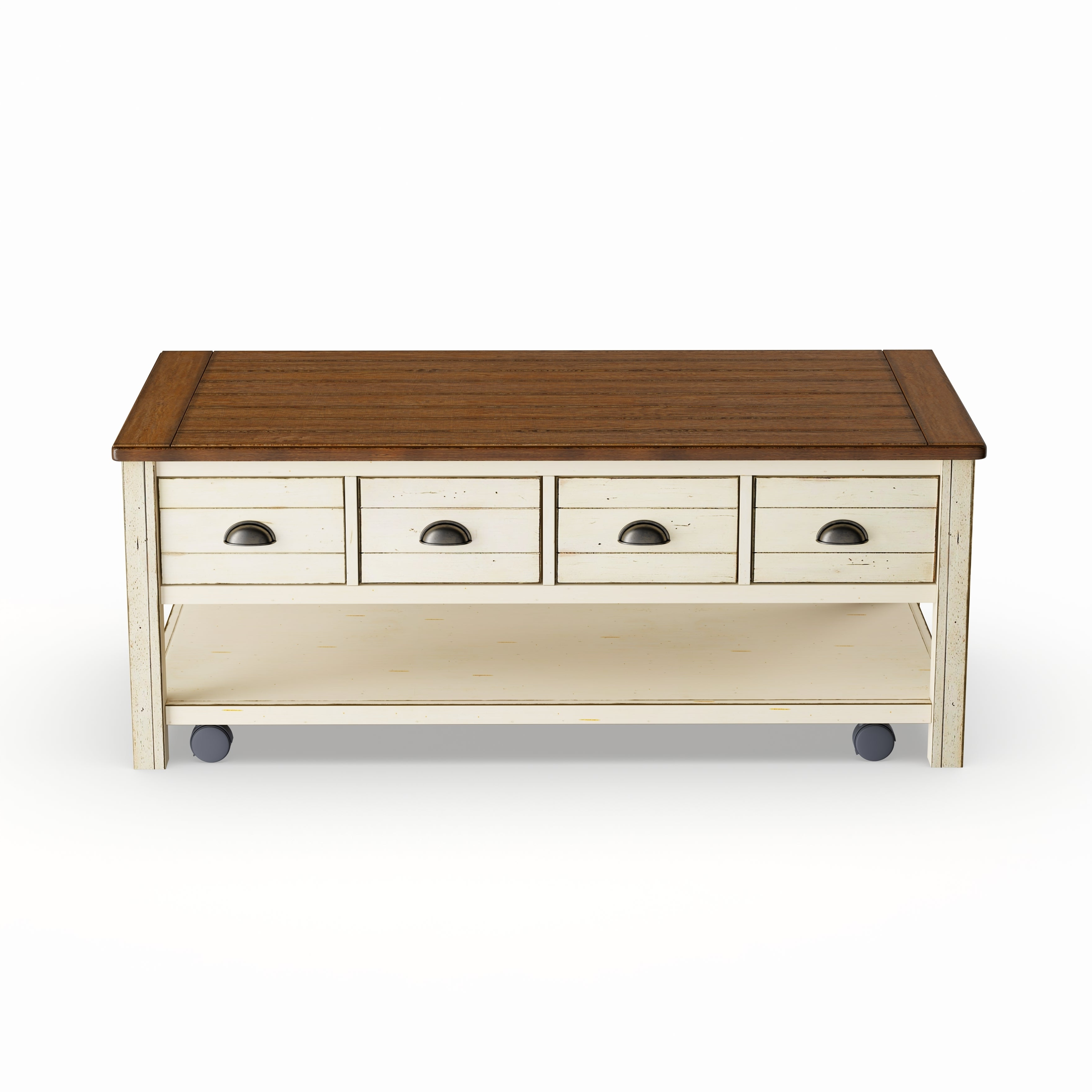 2020 Copper Grove Bowron Dark Cherry Coffee Tables In Copper Grove Torngatalabaster Storage Coffee Table With Casters (View 11 of 20)