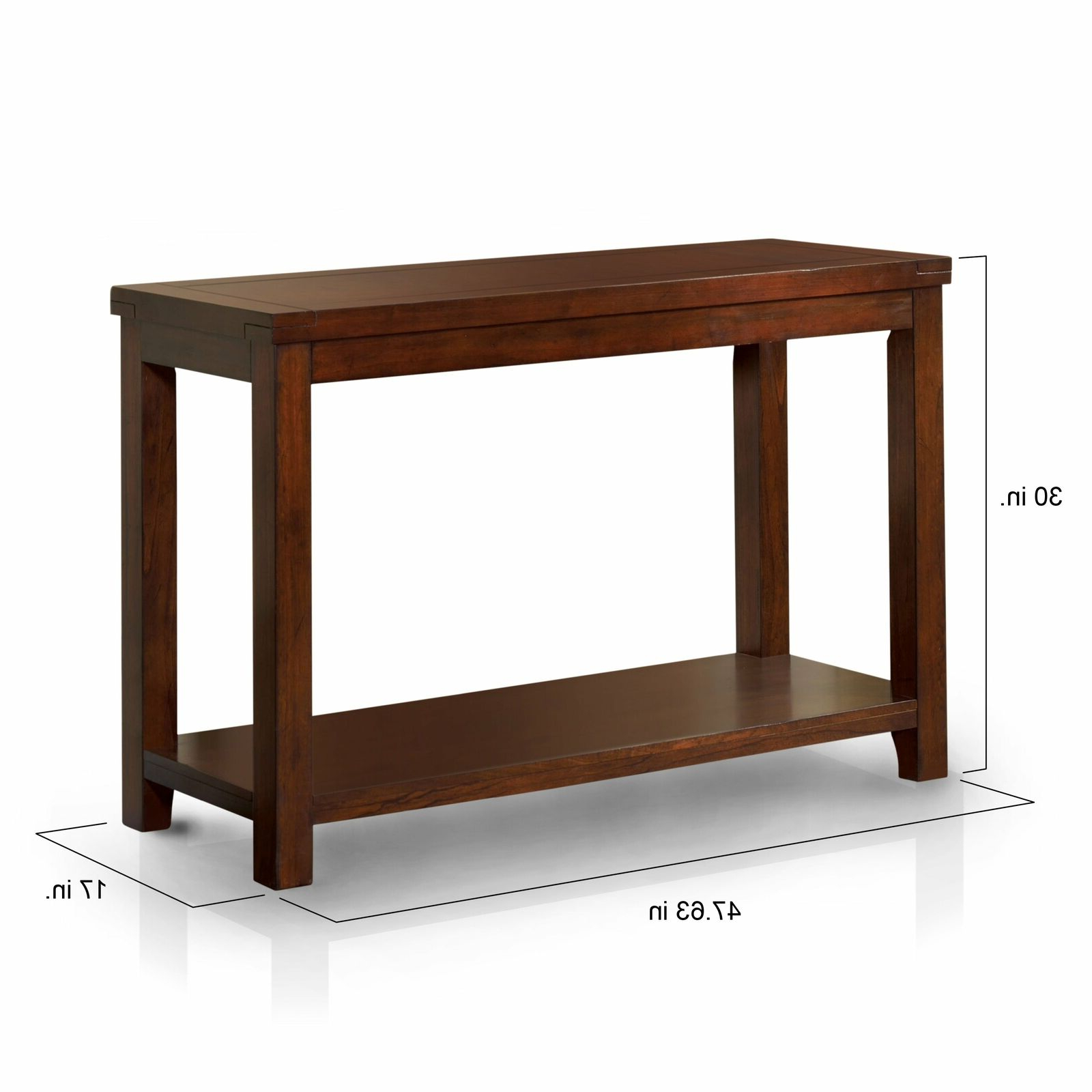 2020 Copper Grove Bowron Dark Cherry Coffee Tables With Copper Grove Gaff Dark Cherry Sofa Table Cherry (Gallery 8 of 20)