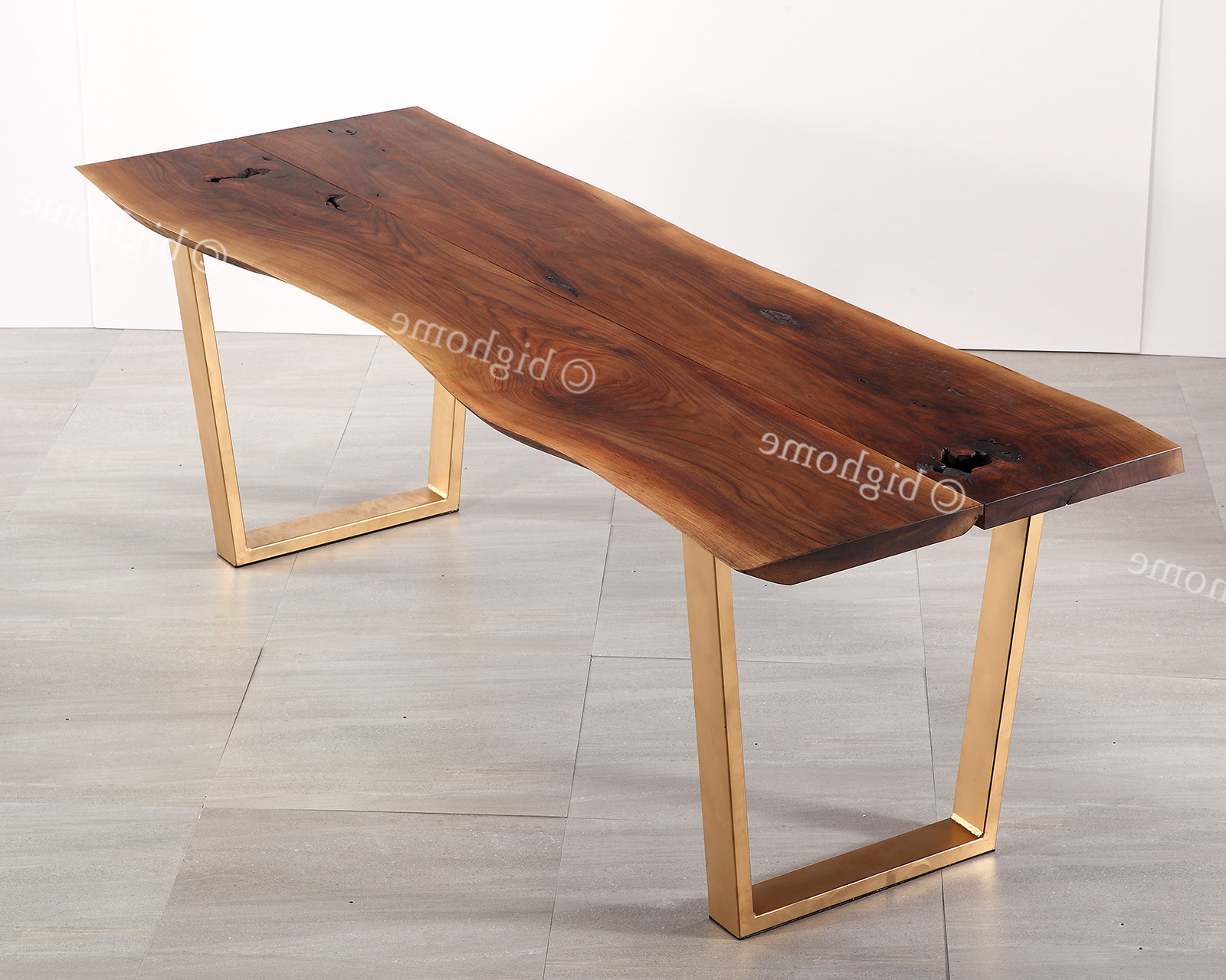"2020 Evalline Modern Dark Walnut Coffee Tables With Living Room Modern Furniture 87"" Table Walnut Finish Wood (Gallery 19 of 20)"