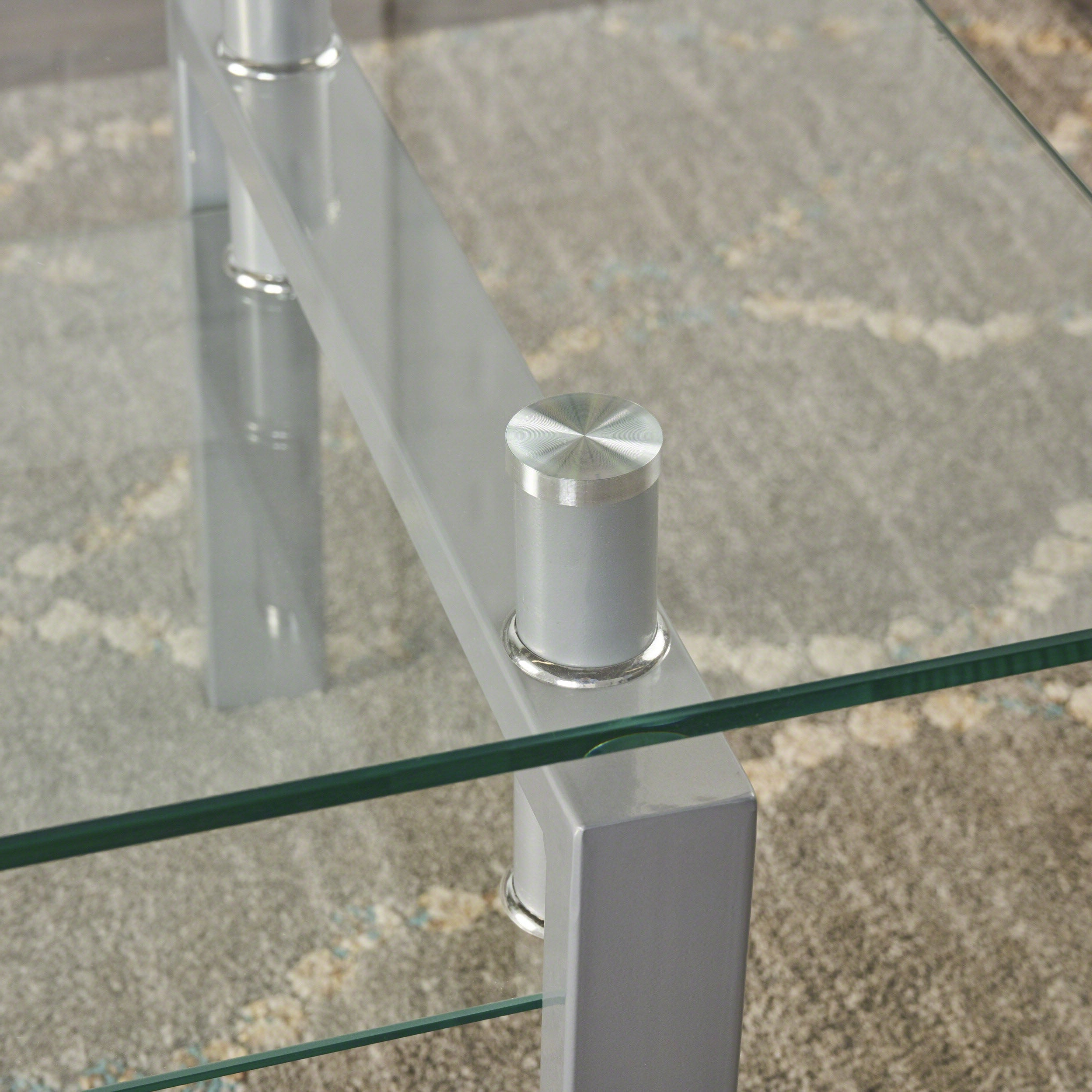 2020 Finbar Modern Rectangle Glass Coffee Tables In Finbar Modern Rectangle Glass Coffee Tablechristopher Knight Home (View 1 of 20)