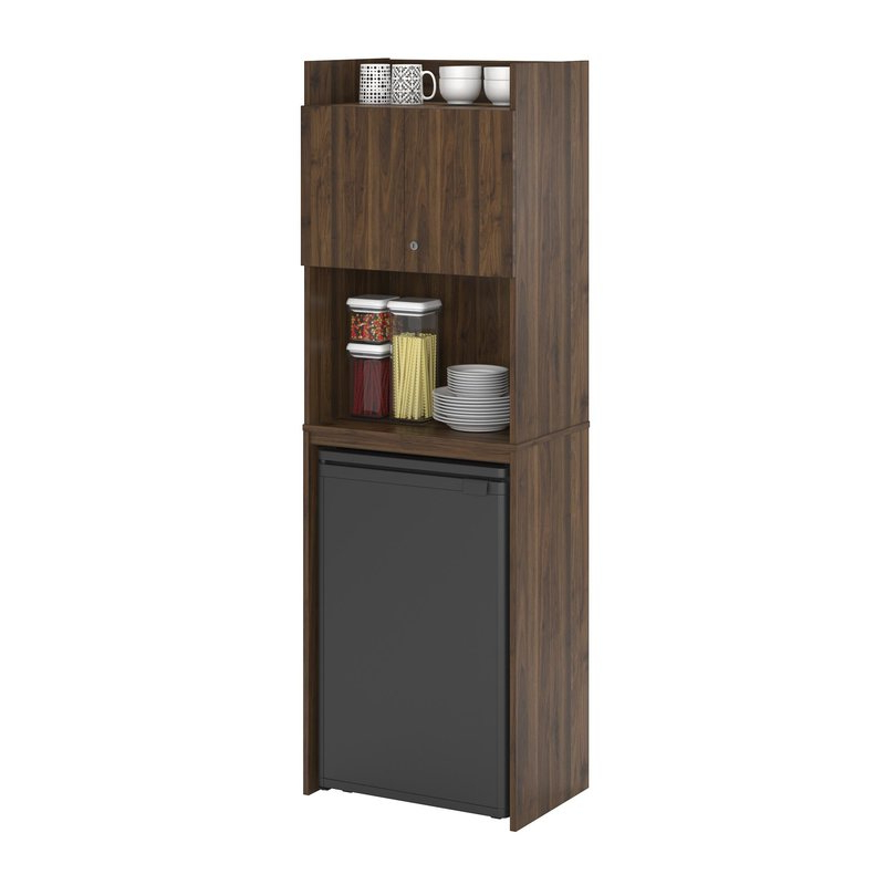 """2020 Kitchen Pantry By Ore Furniture Pertaining To Girard 72"""" Refrigerator Kitchen Pantry (Gallery 5 of 20)"""