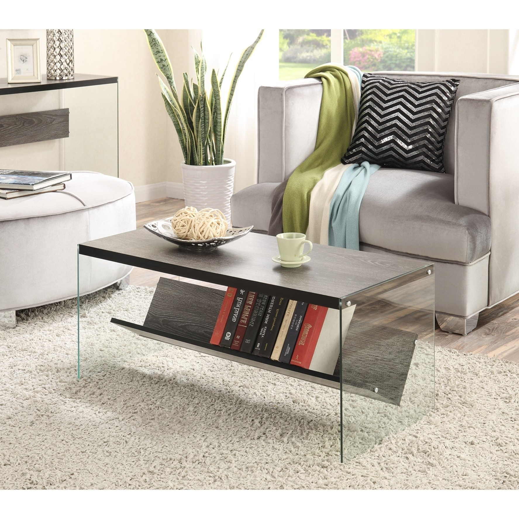 2020 Porch & Den Urqhuart Wood Glass Coffee Tables Throughout Porch & Den Urqhuart Wood/ Glass Coffee Table (Gallery 5 of 20)