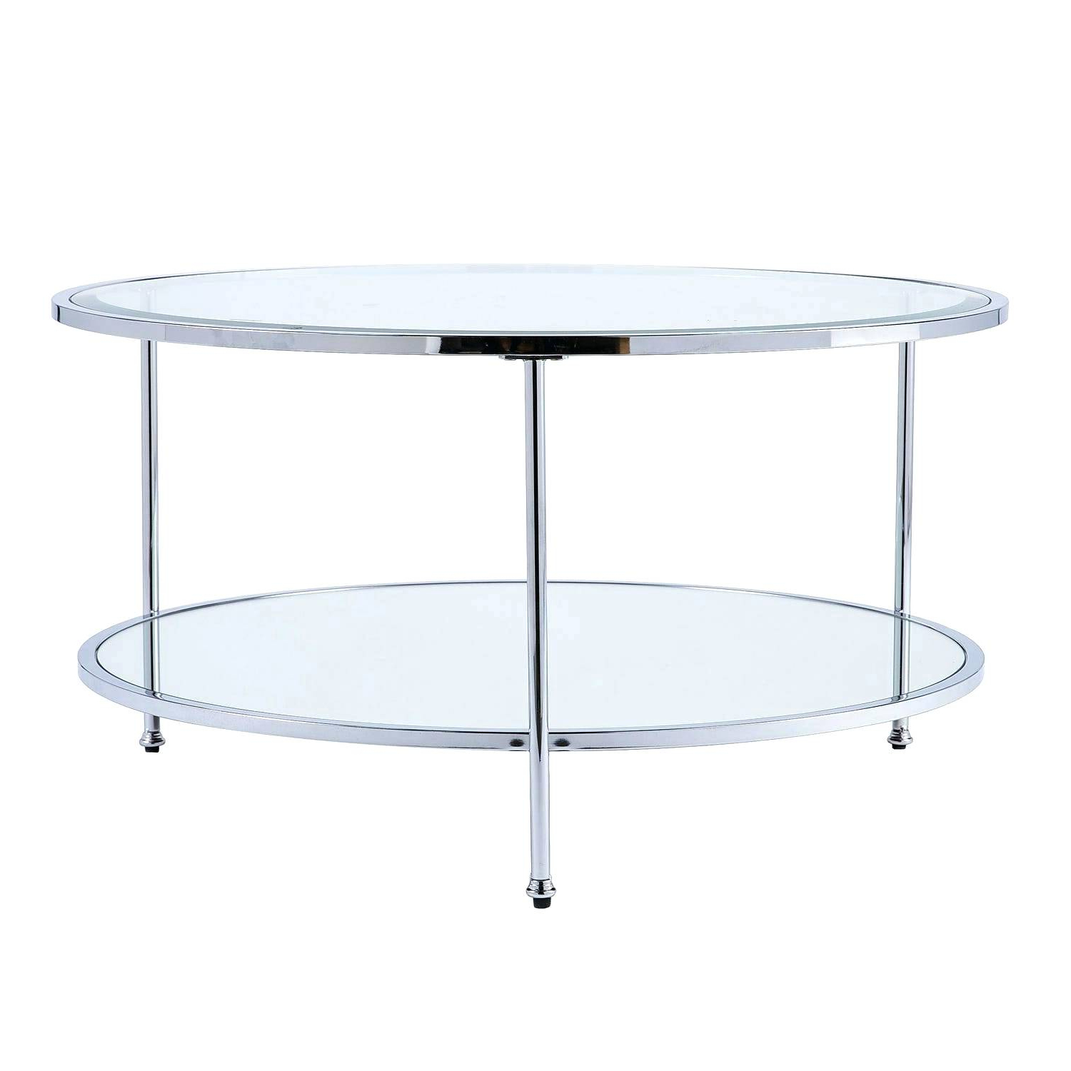 2020 Propel Modern Chrome Oval Coffee Tables With Regard To Glass And Chrome Coffee Table – Nickihover.co (Gallery 9 of 20)