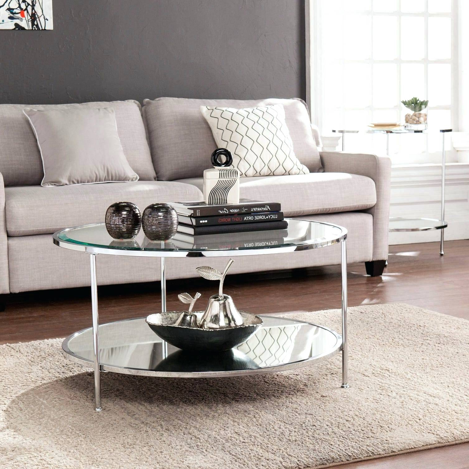 2020 Thalberg Contemporary Chrome Coffee Tables By Foa Intended For Chrome Coffee Table – Cordellmcpeters (View 2 of 20)