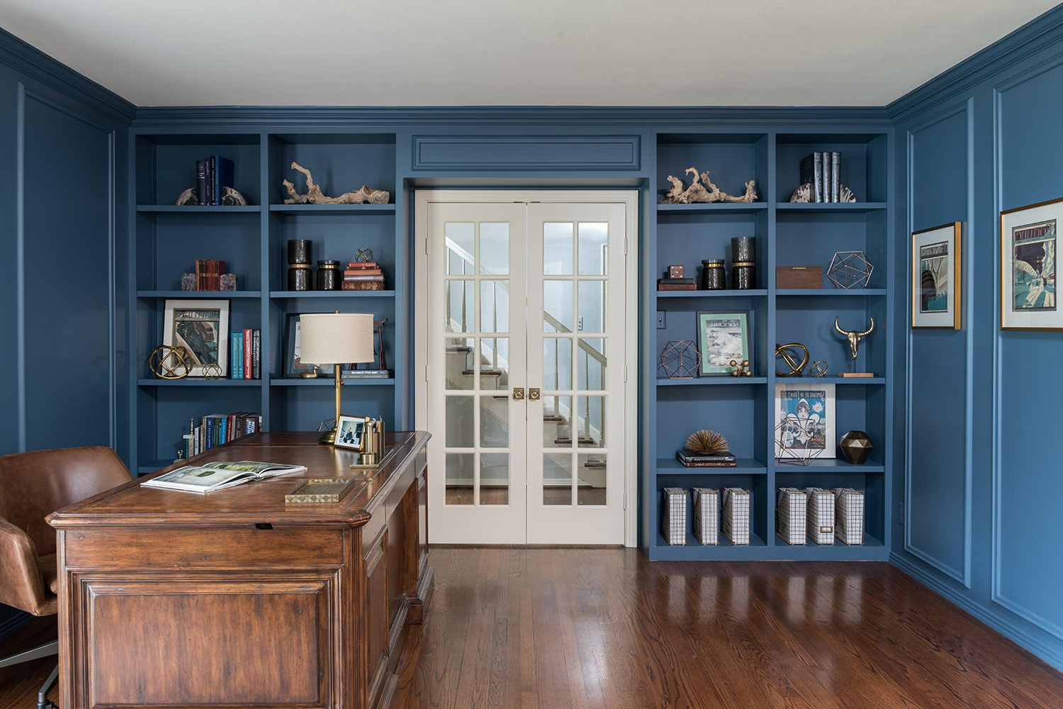 25 Stylish Built In Bookshelves – Floor To Ceiling Shelving Inside Kara 4 Door Accent Cabinets (View 19 of 20)