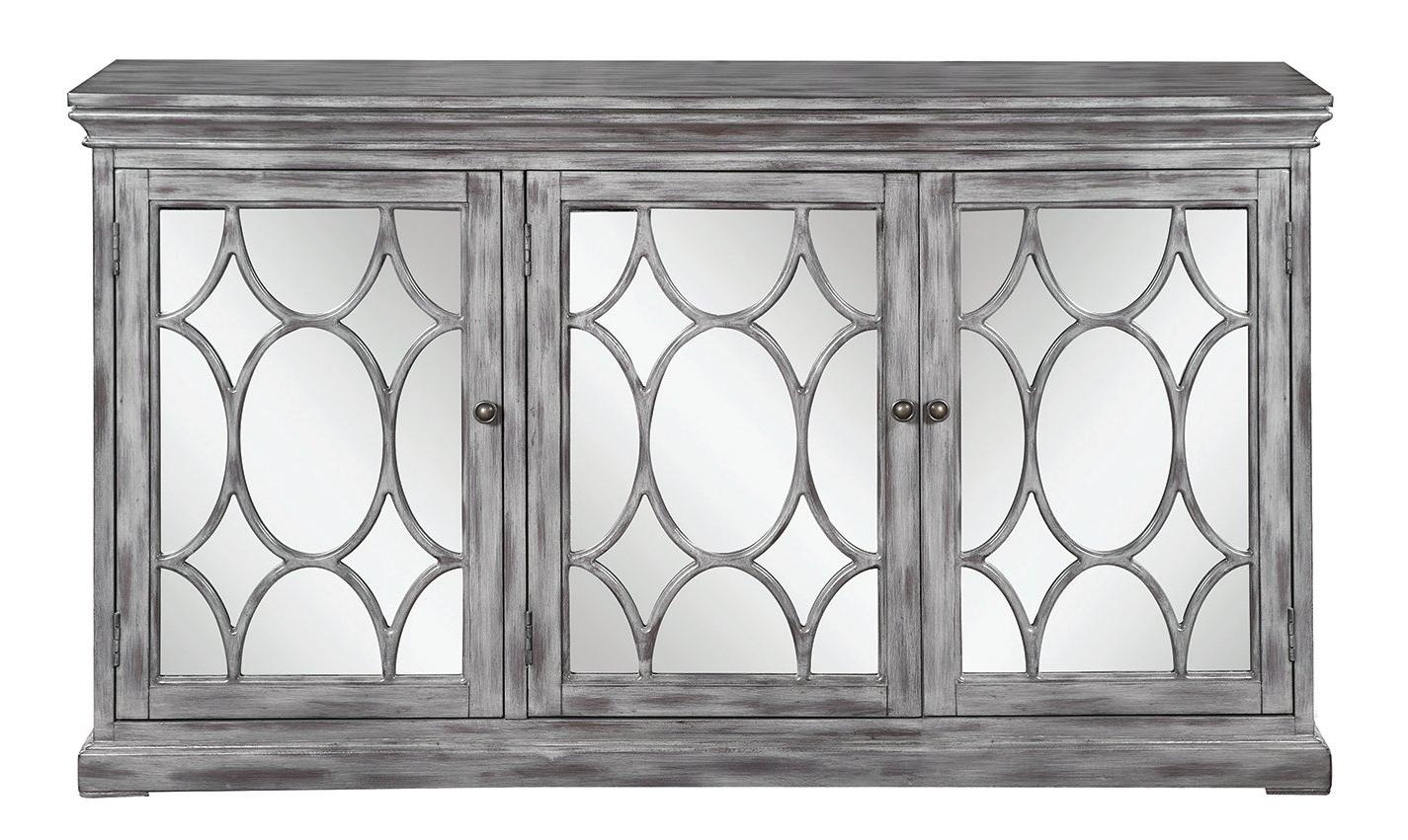 3 Door Accent Cabinet Throughout Mauldin 3 Door Sideboards (View 2 of 20)