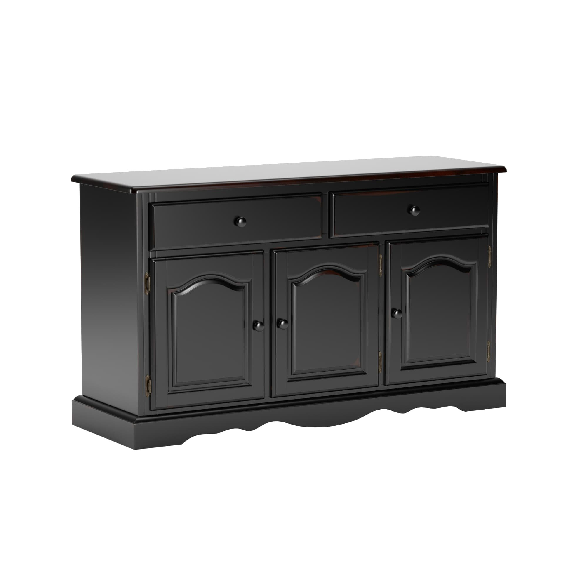 3 Drawer 3 Door Credenza | Wayfair In Giulia 3 Drawer Credenzas (Gallery 7 of 20)