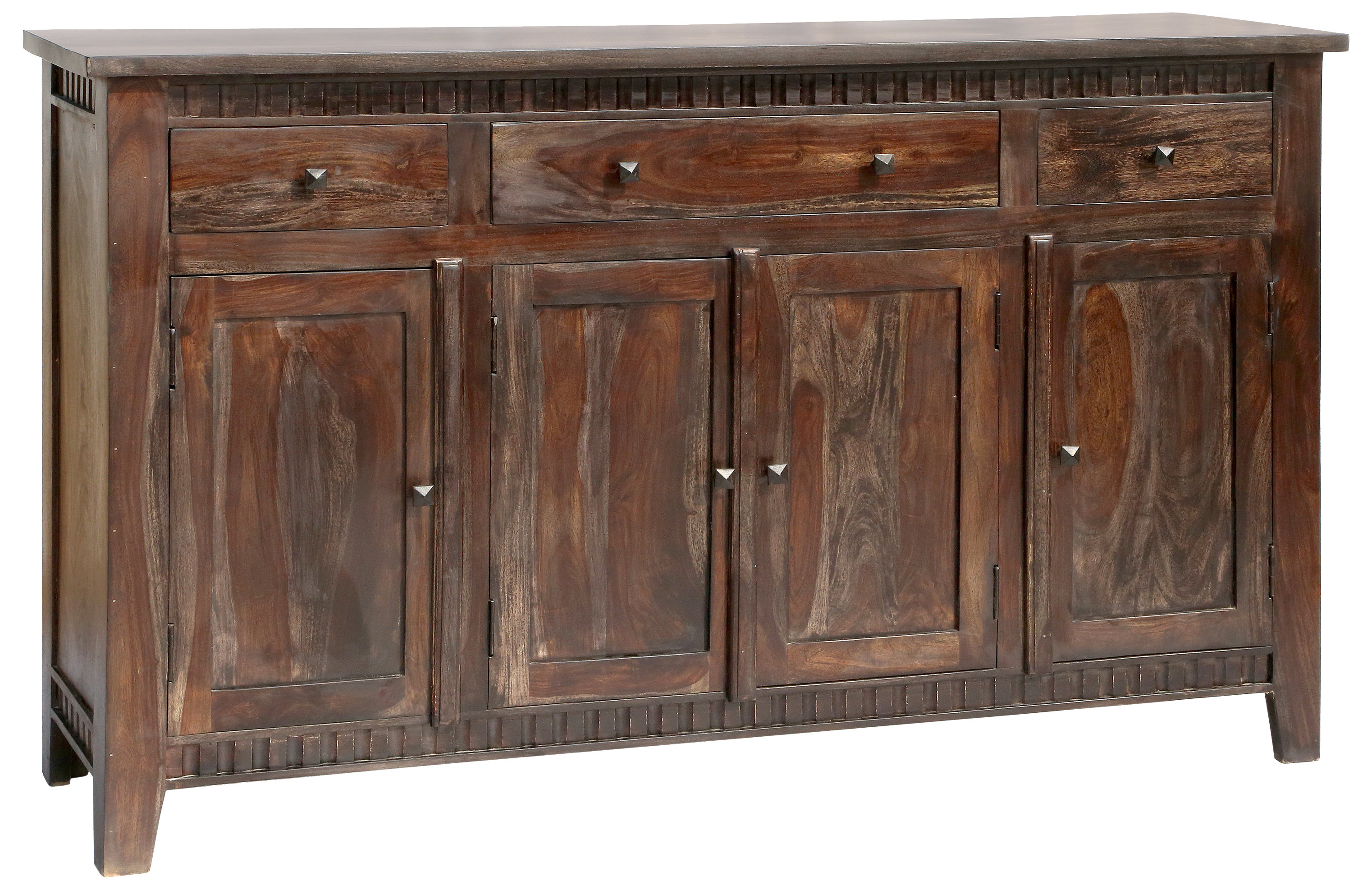 3 Drawer Sideboard | Wayfair With Regard To Drummond 4 Drawer Sideboards (Gallery 10 of 20)