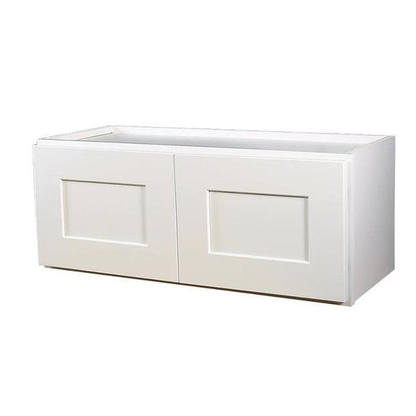 36 In. Fully Assembled Kitchen Corner Wall Cabinet Shaker, White Intended For Favorite Brookings Kitchen Pantry (Gallery 17 of 20)