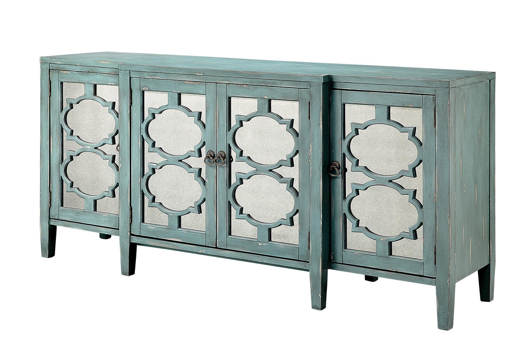 4 Door Accent Cabinet | Sbiroregon Regarding Kattie 4 Door Cabinets (View 9 of 20)