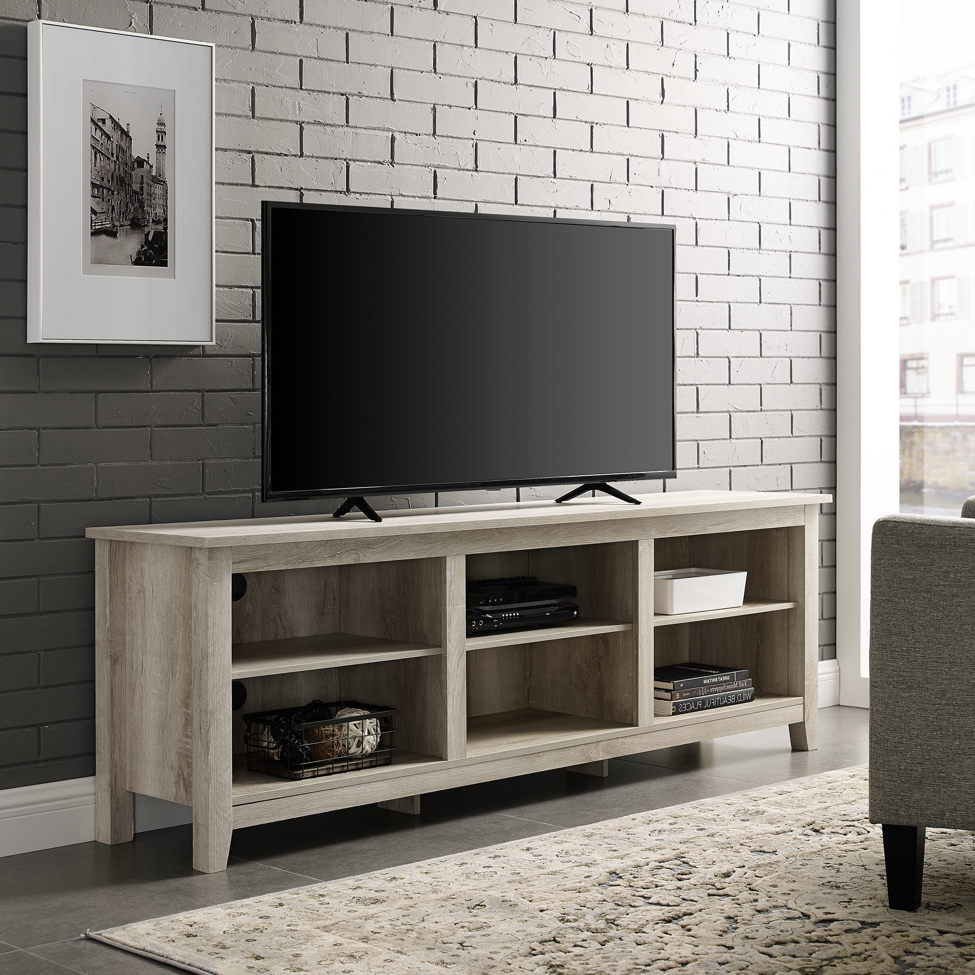 """Featured Photo of Creola 72"""" Tv Stands"""