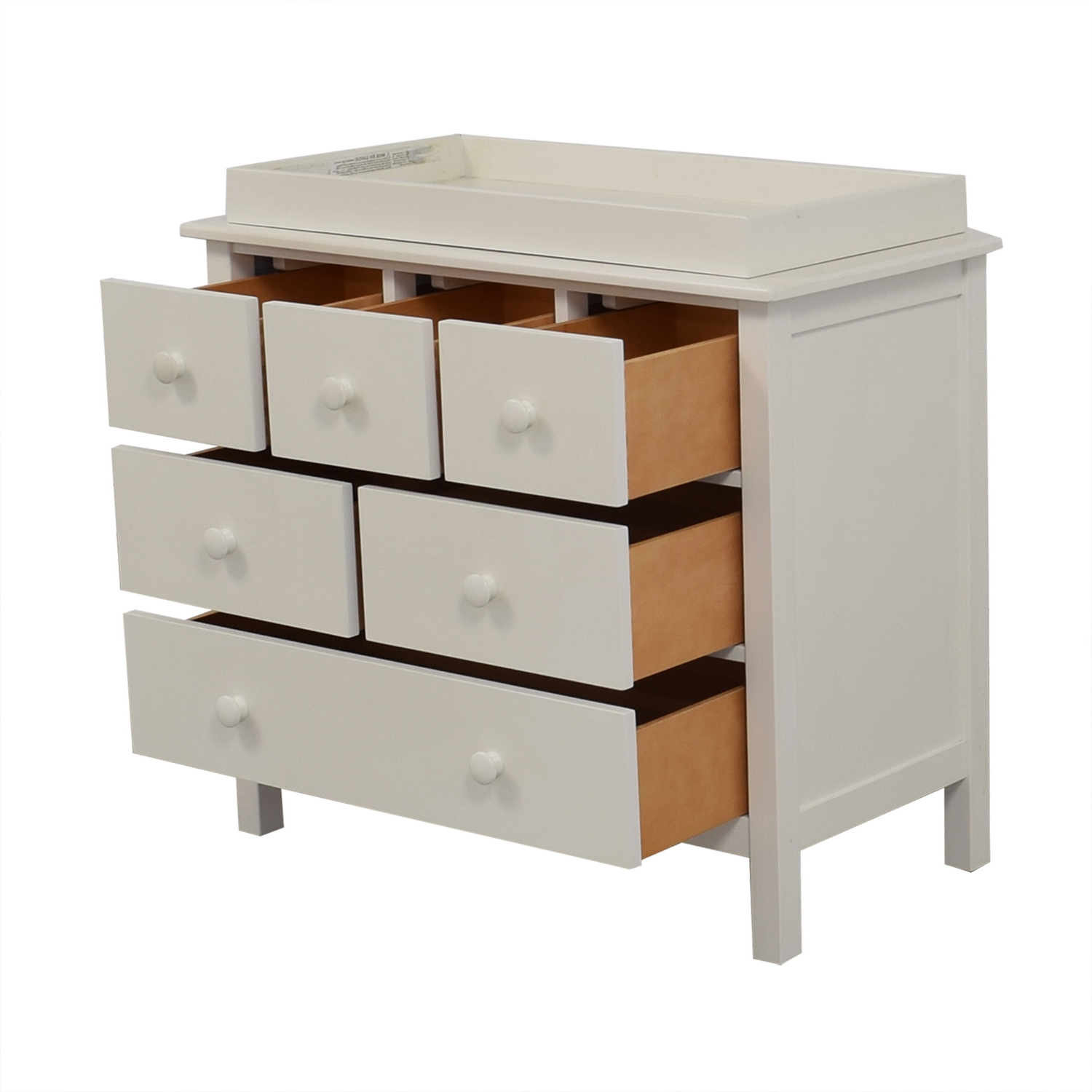 72% Off – Pottery Barn Kids Pottery Barn Kids Kendall Dresser And Changing Table / Storage For Kendall Sideboards (View 16 of 20)