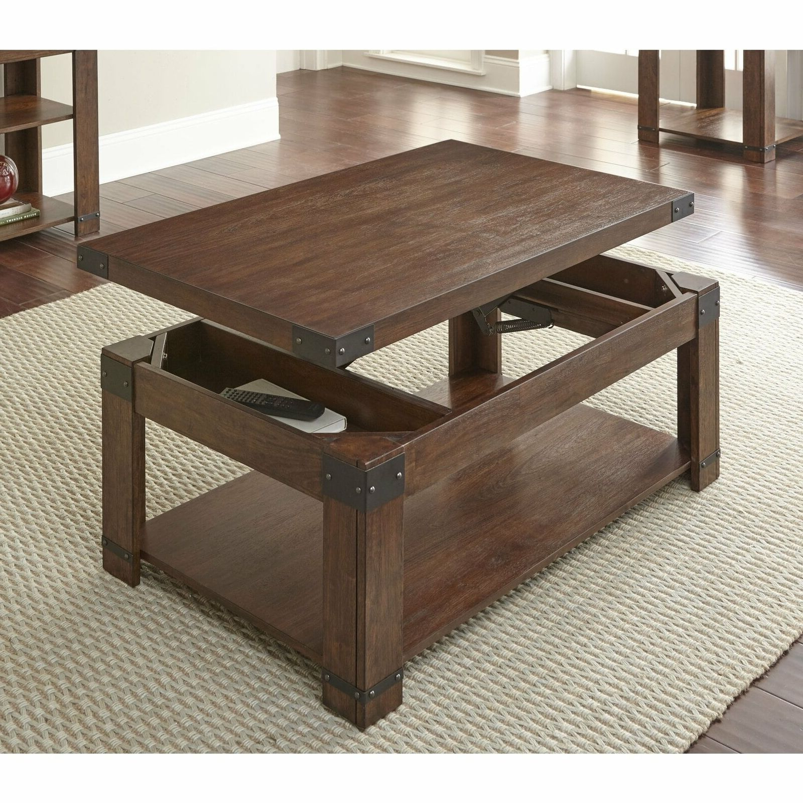 Aldridge 48 Inch Rectangle Lift Top Coffee Tablegreyson Cherry In Most Up To Date Lockwood Rectangle Coffee Tables (View 2 of 20)
