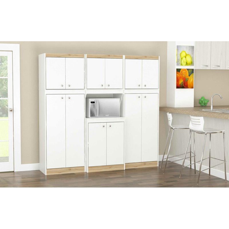 Featured Photo of Amaia 3 Piece Kitchen Pantry