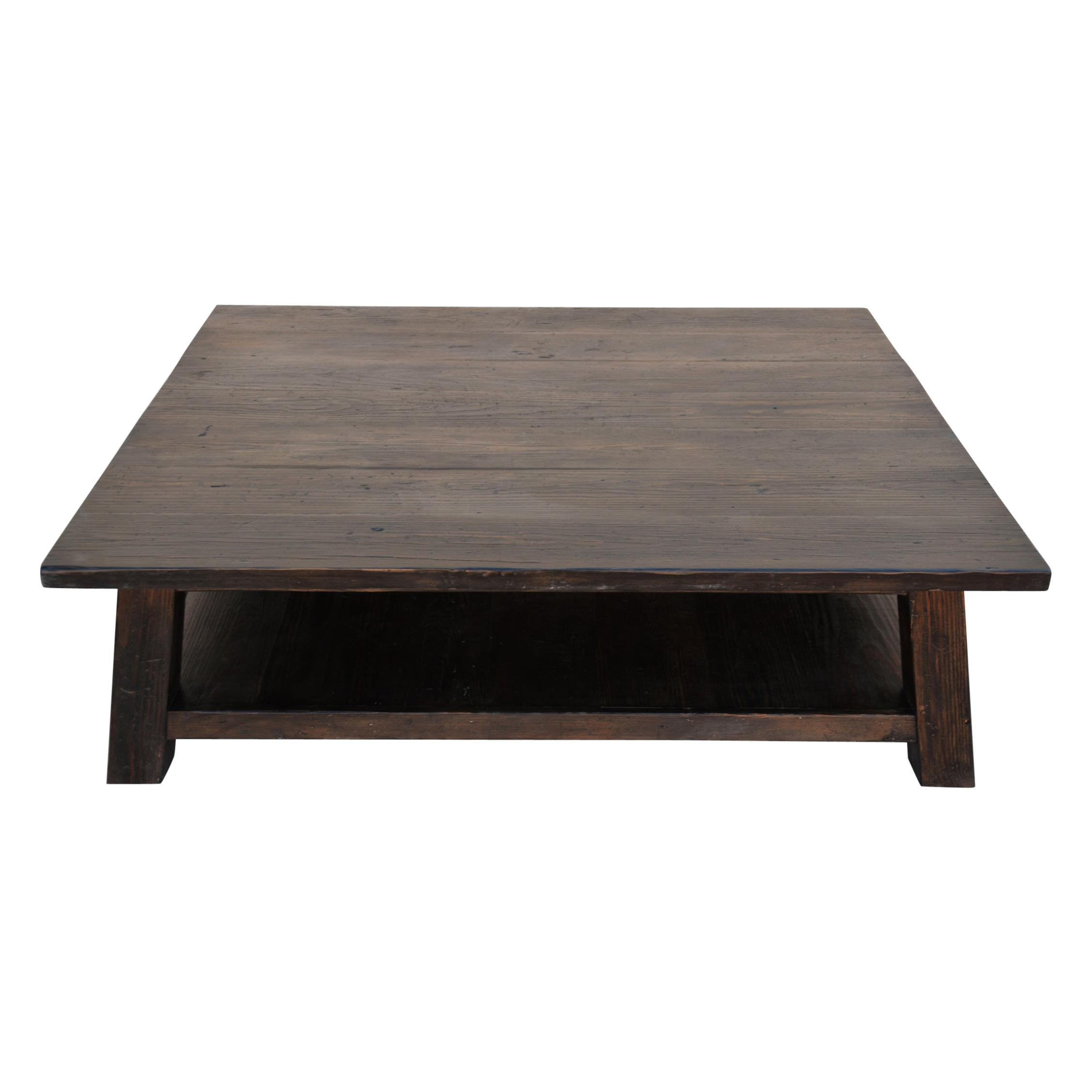 American Craftsman Coffee And Cocktail Tables – 51 For Sale Intended For Current Sawyer Industrial Reclaimed Rectangular Cocktail Tables (View 6 of 20)