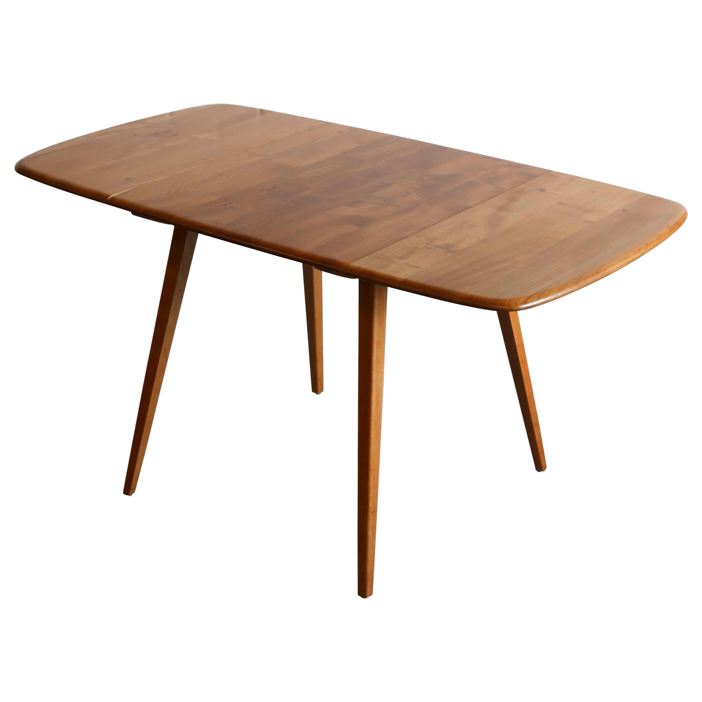 Antique And Vintage Drop Leaf And Pembroke Tables – 748 For Inside Well Known Cohler Traditional Brown Cherry Oval Coffee Tables (View 16 of 20)