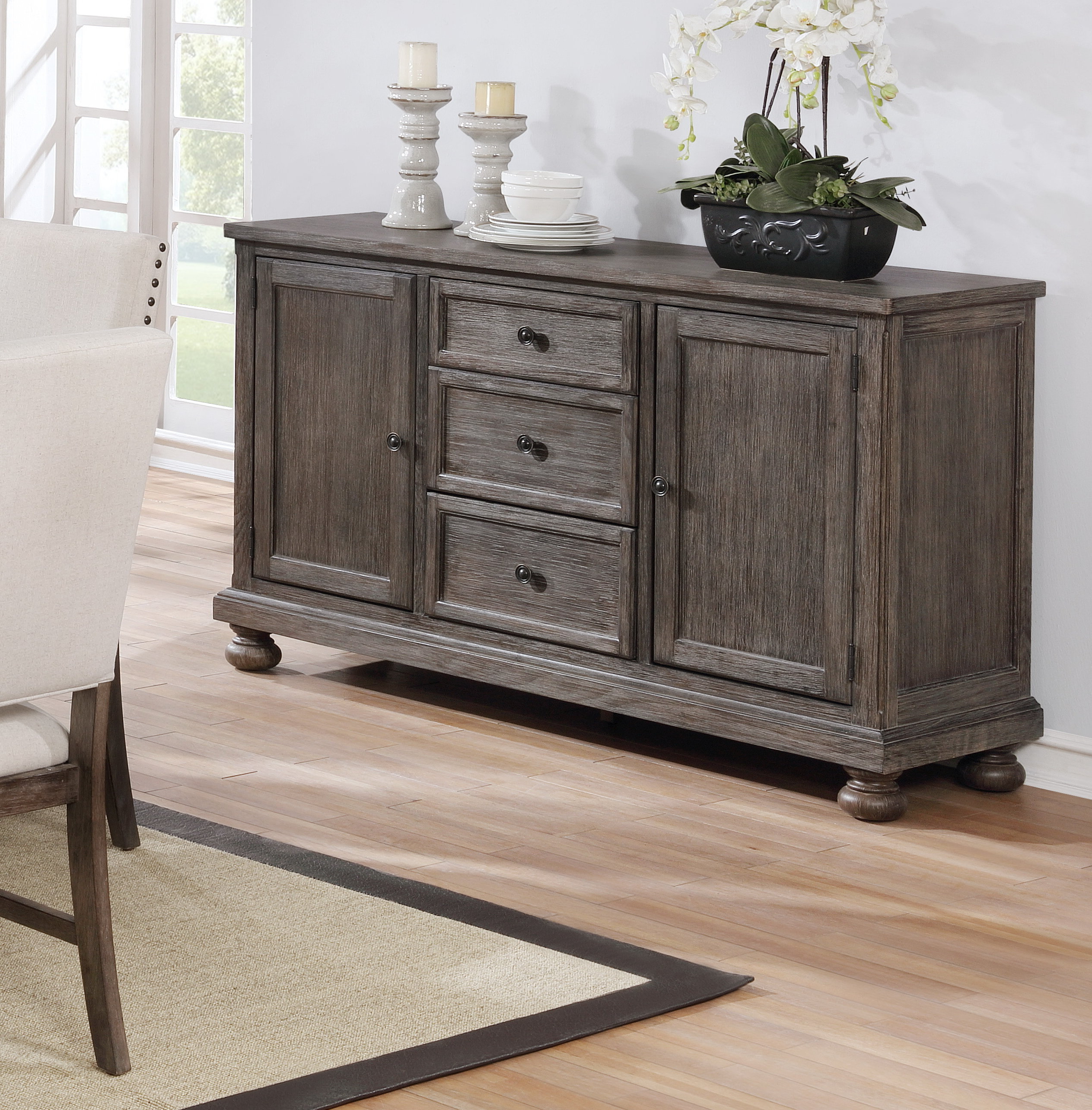 Antique Farmhouse Sideboard | Wayfair (View 12 of 20)