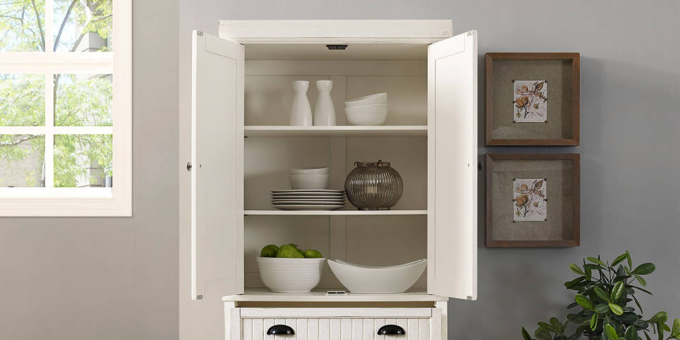"Argana Kitchen Pantry Inside Favorite Halstead 72"" Kitchen Pantry (View 18 of 20)"