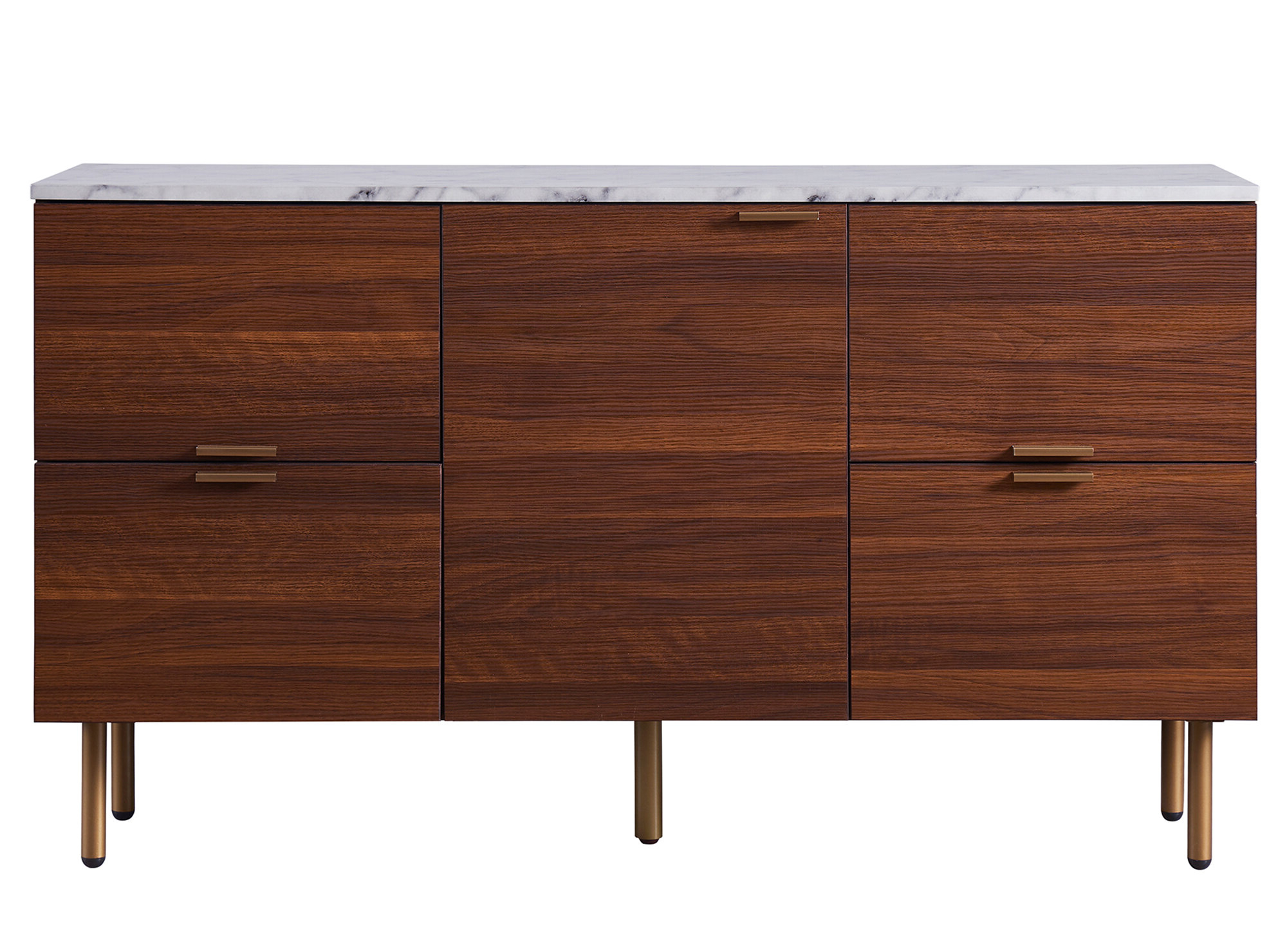 Ashton Buffet Table Throughout Keiko Modern Bookmatch Sideboards (View 3 of 20)