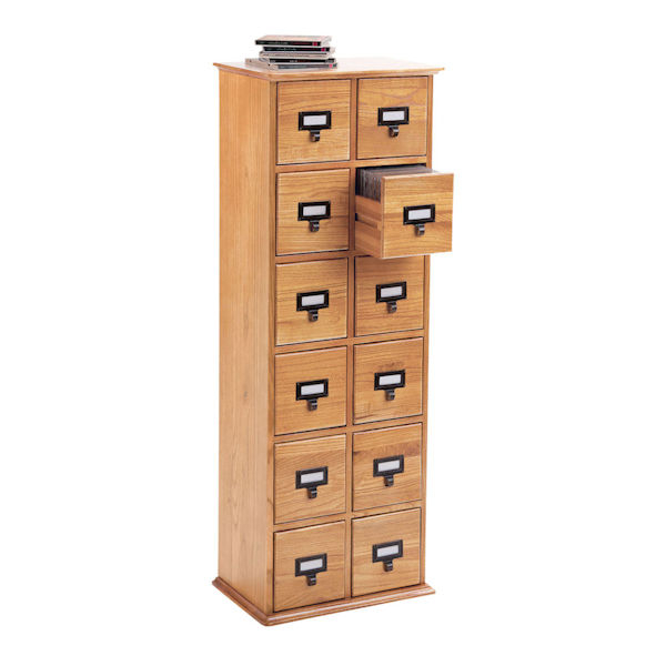 Avis Storage Cabinet With Regard To Most Up To Date Library Cd Storage Cabinet: 12 Drawer (View 13 of 20)