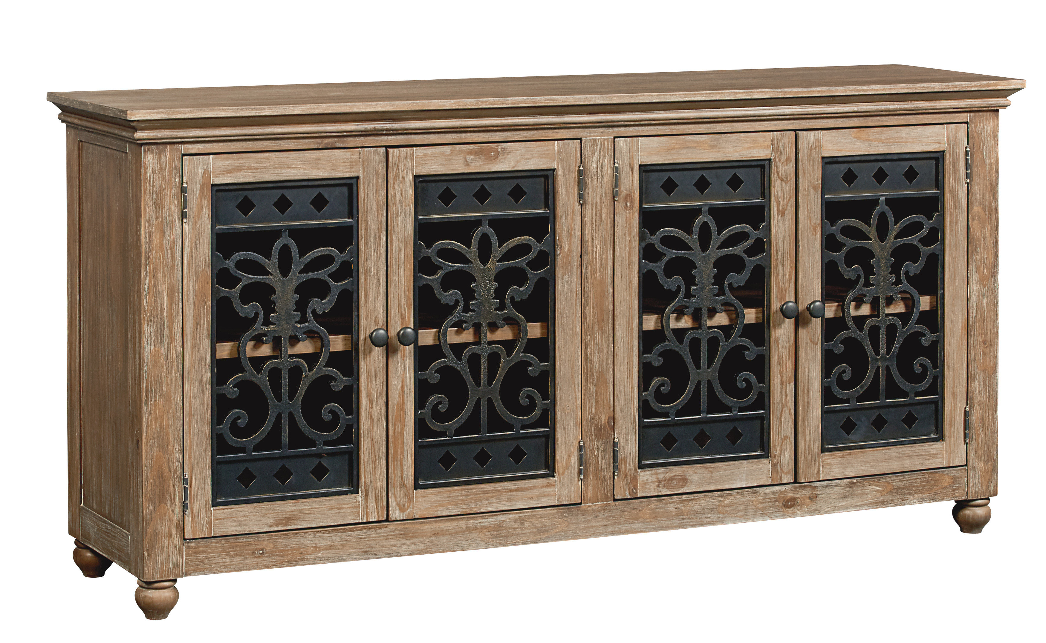 Basco Buffet Table With Regard To Mauldin 3 Door Sideboards (View 7 of 20)