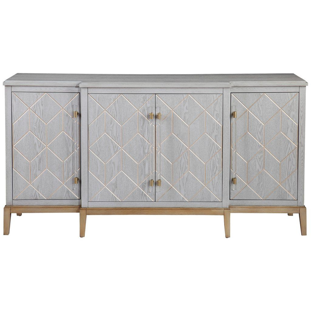 Bassett Mirror Company Perrine Server | House | Sideboard With Regard To Rosson Sideboards (View 1 of 20)