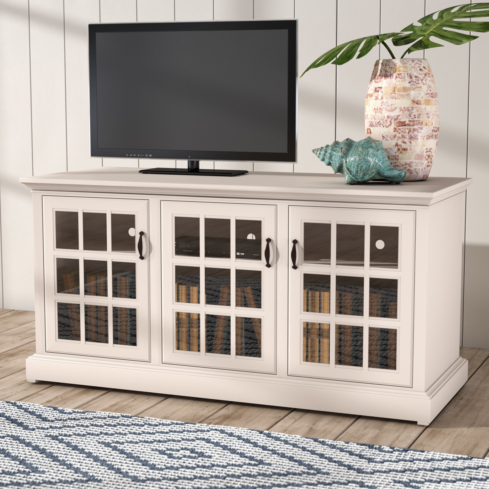 "Beachcrest Home Dartmouth Tv Stand For Tvs Up To 43 Inside Colefax Vintage Tv Stands For Tvs Up To 78"" (View 7 of 20)"
