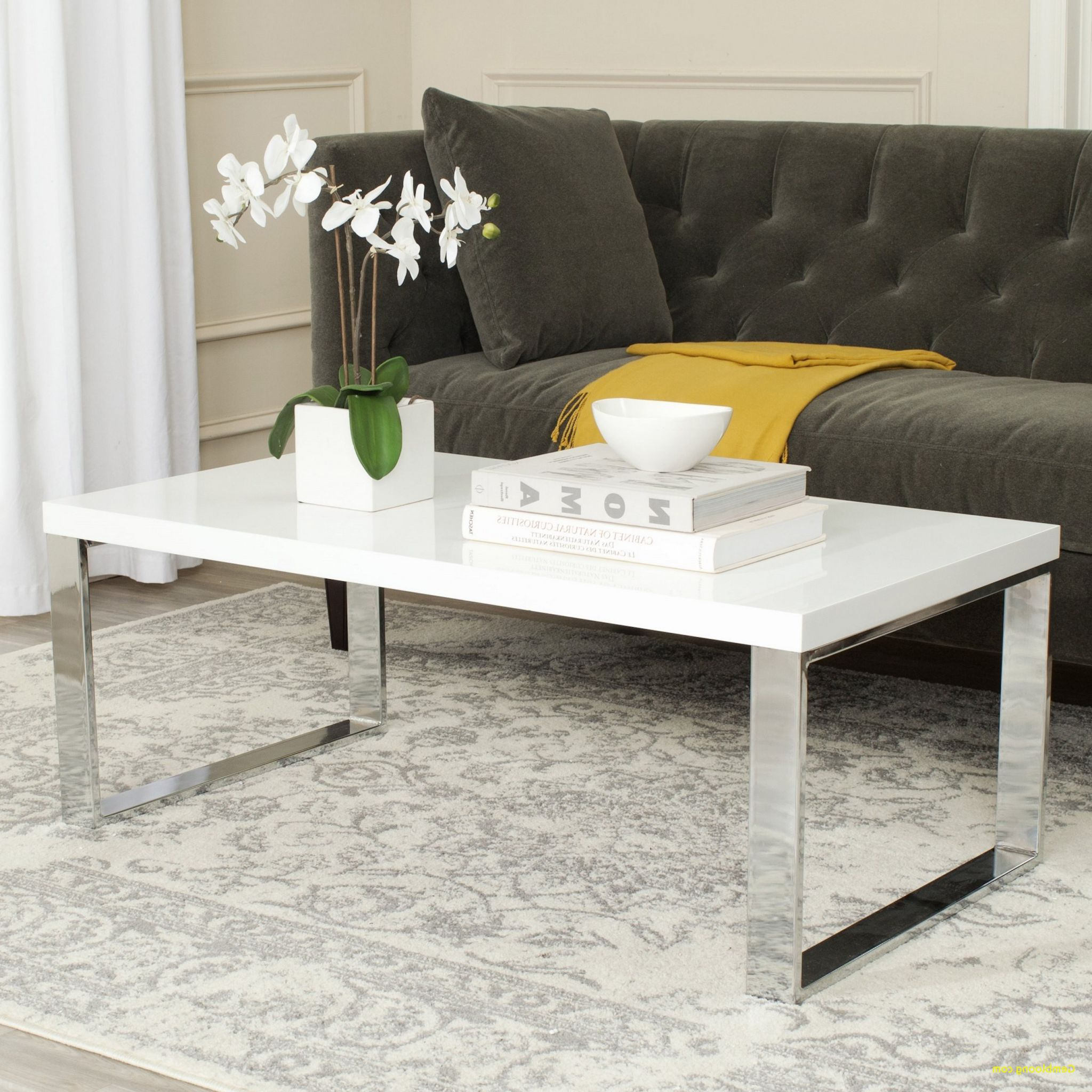 Beautiful Gray And White Coffee Table – Coffee Table Design With Regard To Best And Newest Arella Ii Modern Distressed Grey White Coffee Tables (View 16 of 20)