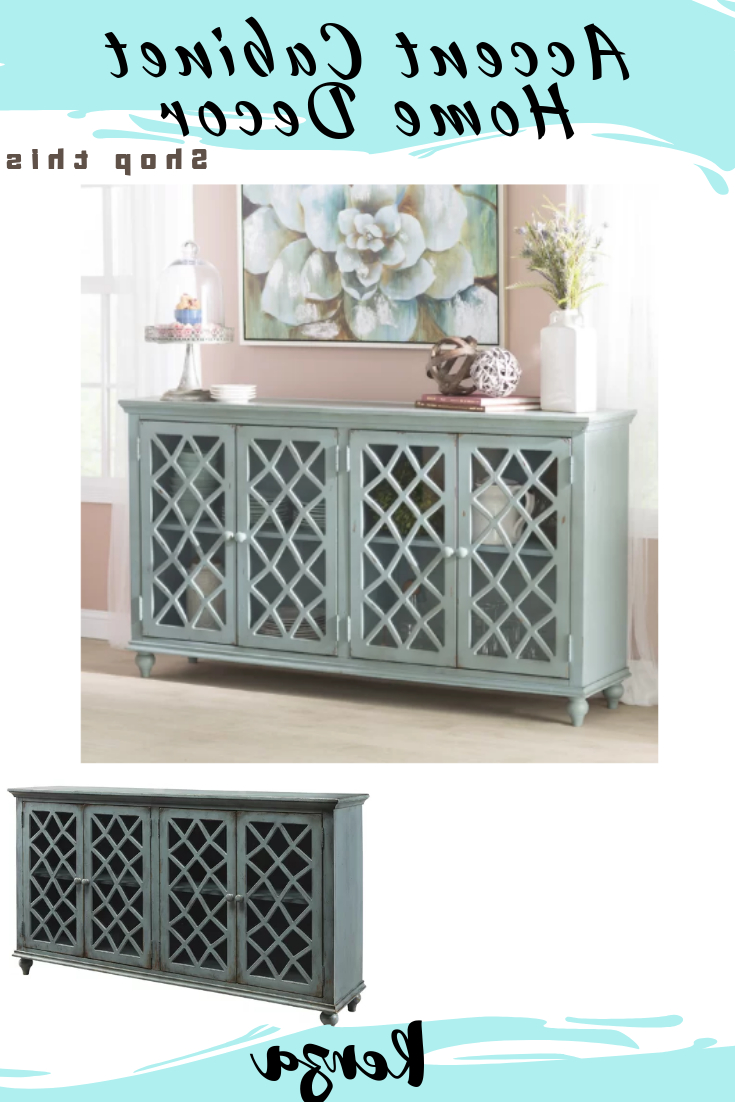 Beautiful Kara 4 Door Accent Cabinet Is A Welcome Addition Throughout Kara 4 Door Accent Cabinets (View 7 of 20)
