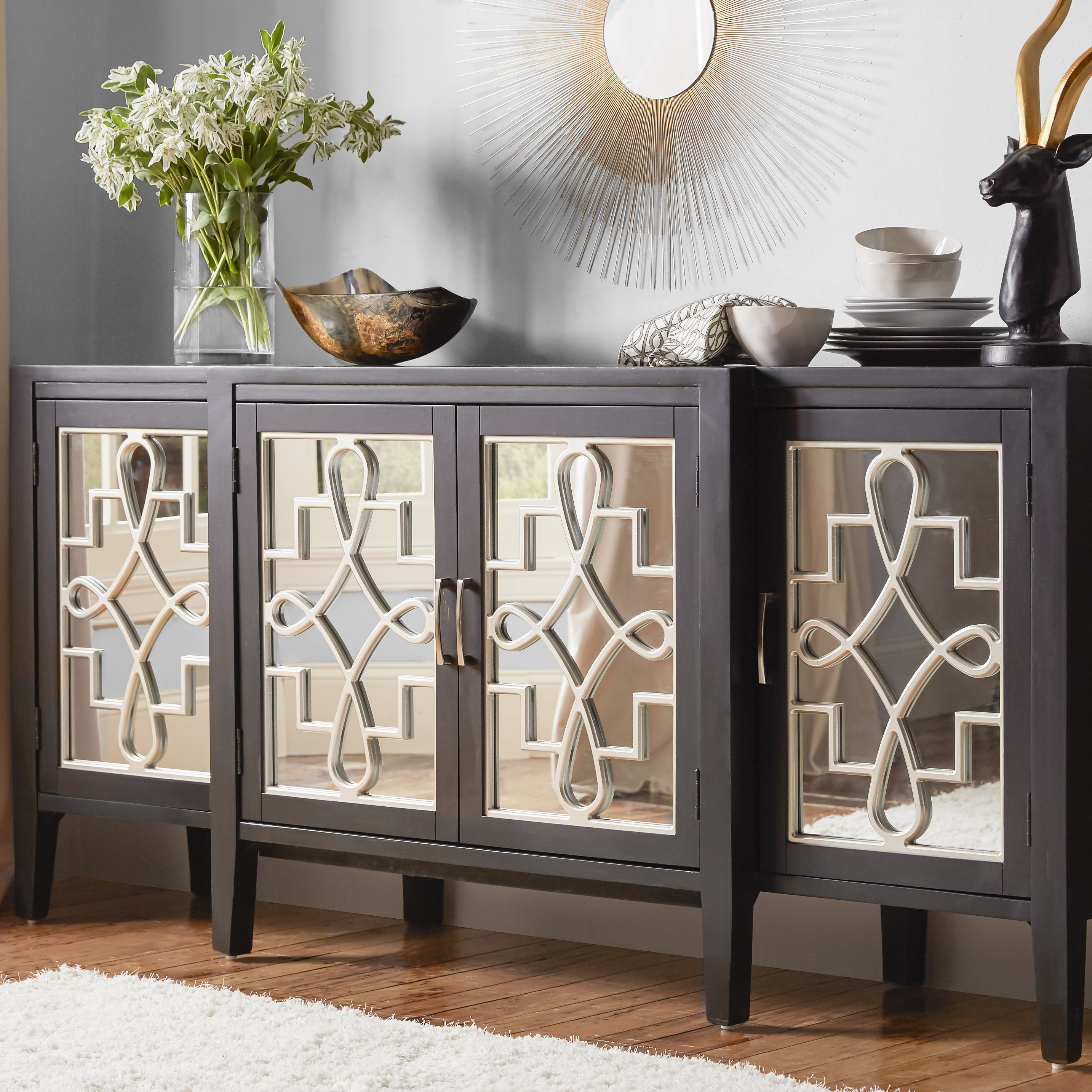 Beesley Buffet Table With Stillwater Sideboards (View 4 of 20)