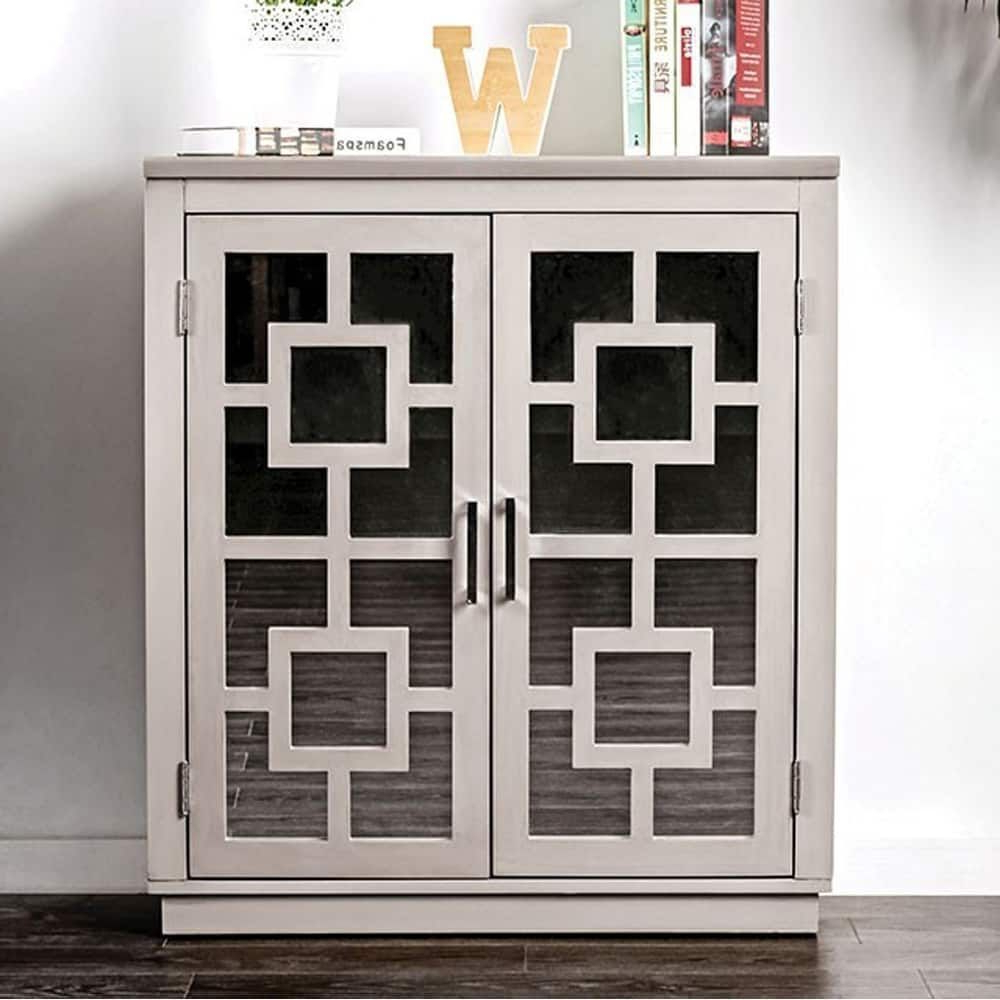 Benzara Lora Contemporary Hallway Cabinet, Gray | Products With Regard To Candace Door Credenzas (View 8 of 20)
