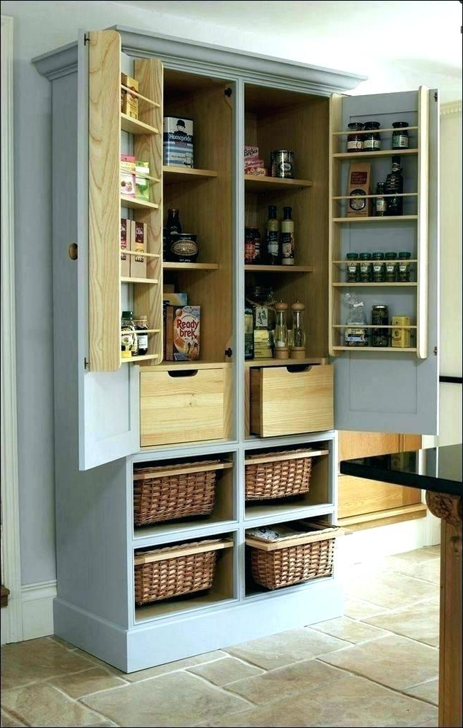 Best And Newest Farmhouse Kitchen Pantry With Stand Alone Kitchen Pantries – Psmpithaca (View 8 of 20)