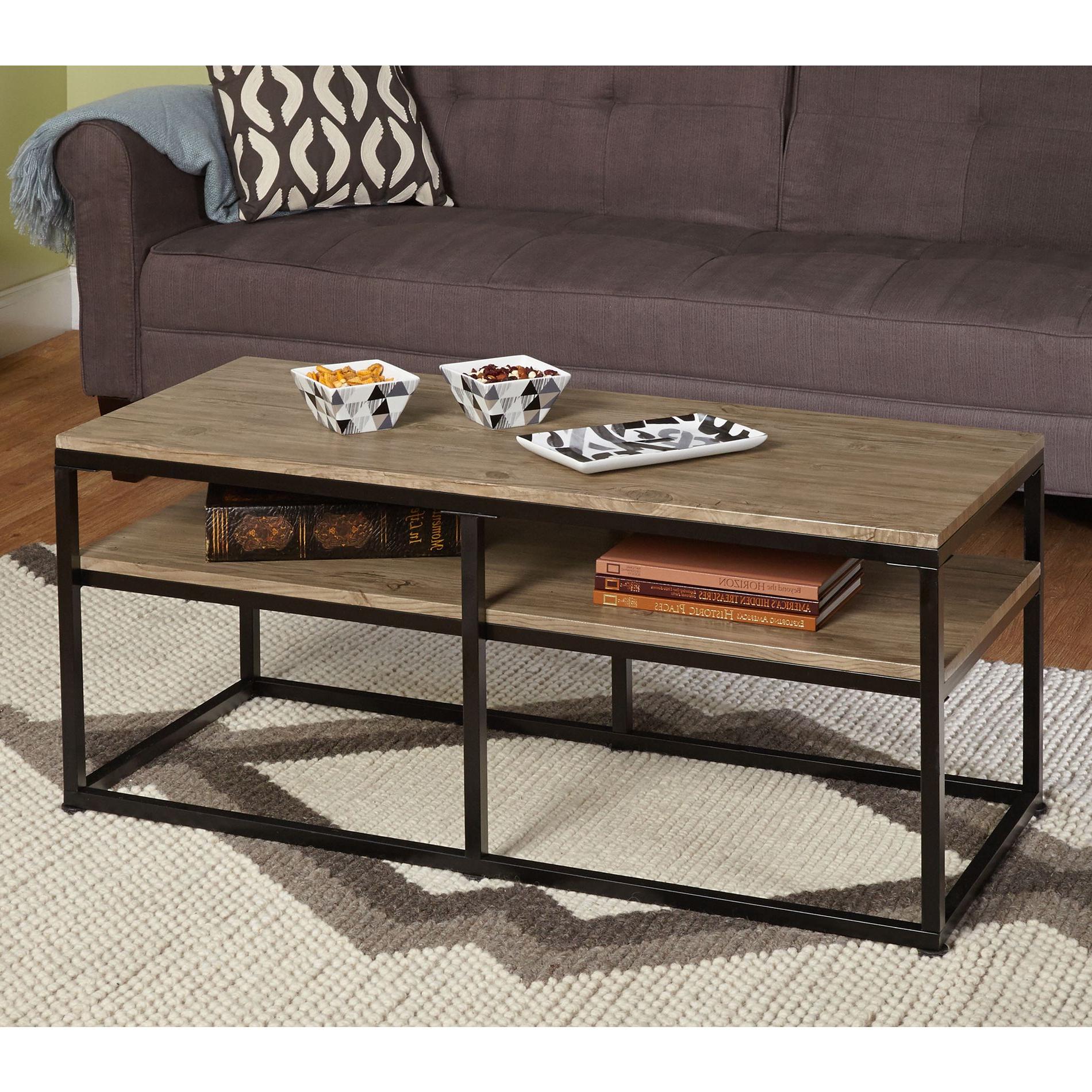Best And Newest Strick & Bolton Florence Chrome Coffee Tables Regarding Simple Living Piazza Coffee Table – Overstock™ Shopping (View 14 of 20)