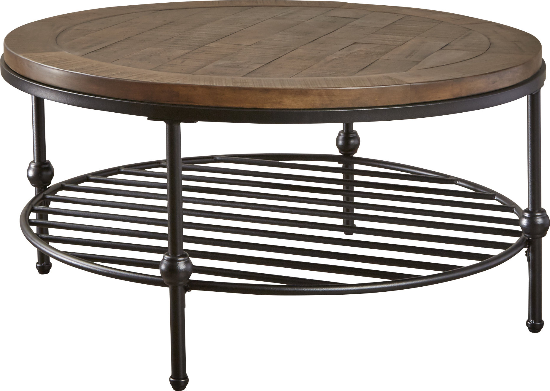 Birch Lane Intended For Trendy Dravens Industrial Cherry Coffee Tables (View 20 of 20)