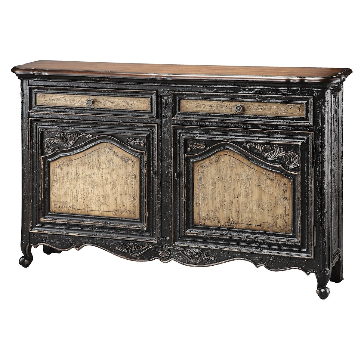 Black & Gold Sideboards & Buffets You'll Love In 2019 | Wayfair In Dormer Sideboards (View 8 of 20)