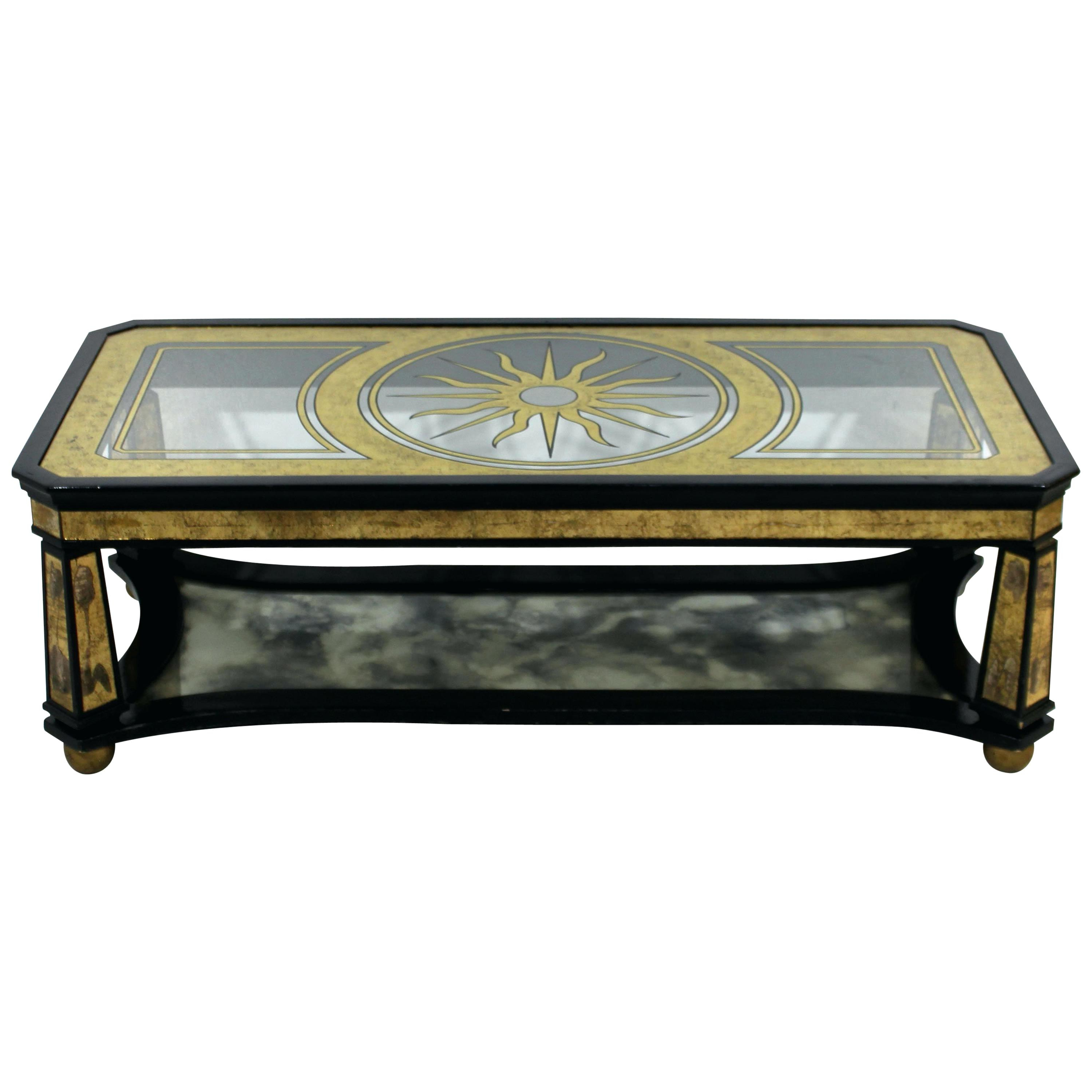 Black Modern Coffee Table – Flyhi Inside Current Safavieh Mid Century Wynton White Black Lacquer Modern Coffee Tables (View 18 of 20)