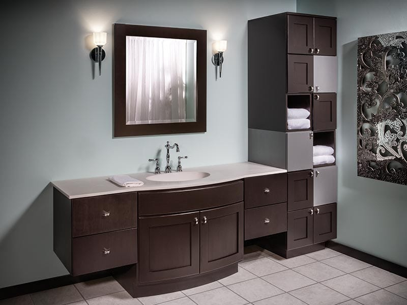 Blairwood Kitchen Pantry In Latest Bertch Cabinet Manufacturing (View 4 of 20)