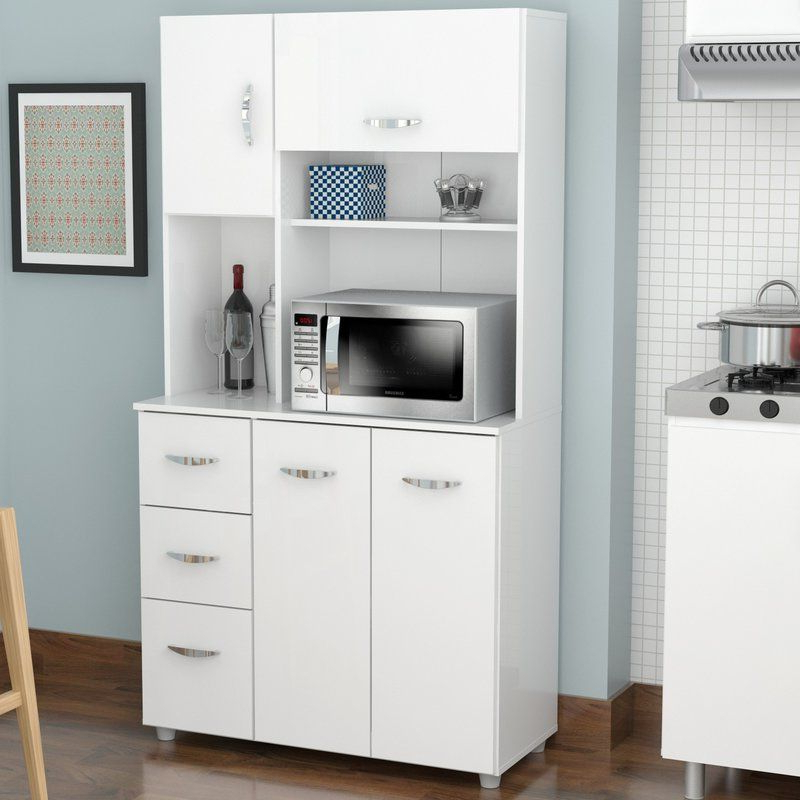 "Blanken Kitchen Pantry For Preferred Blanken 66"" Kitchen Pantry In (View 2 of 20)"