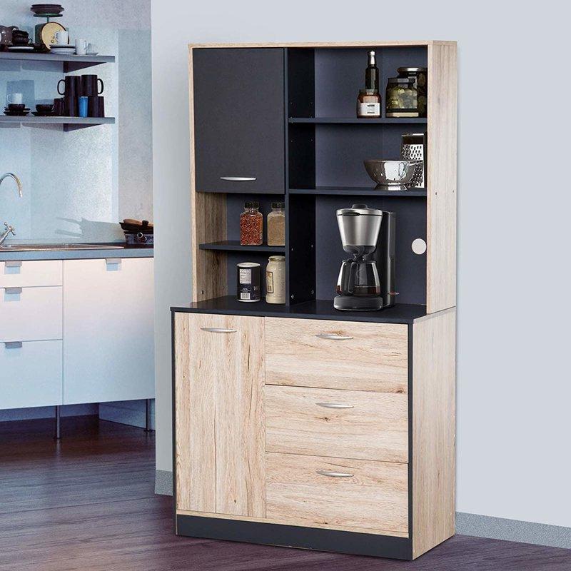 "Blanken Kitchen Pantry Intended For Popular Arlen 67"" Kitchen Pantry (View 15 of 20)"