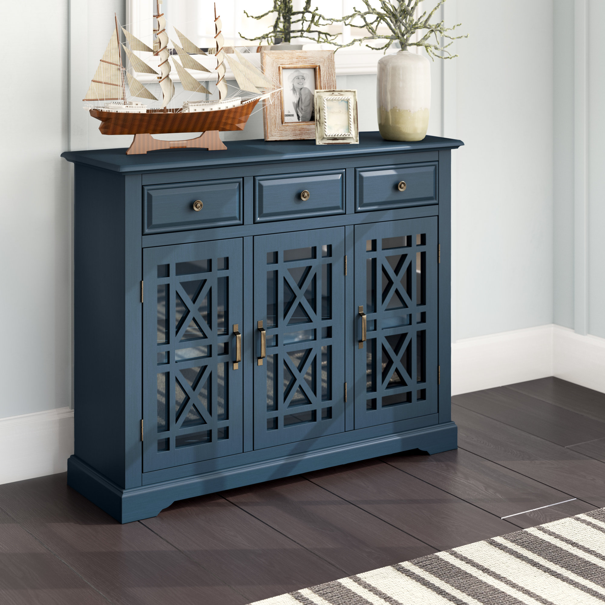 Breakwater Bay Winston Sideboard & Reviews | Wayfair For Knoxville Sideboards (View 7 of 20)